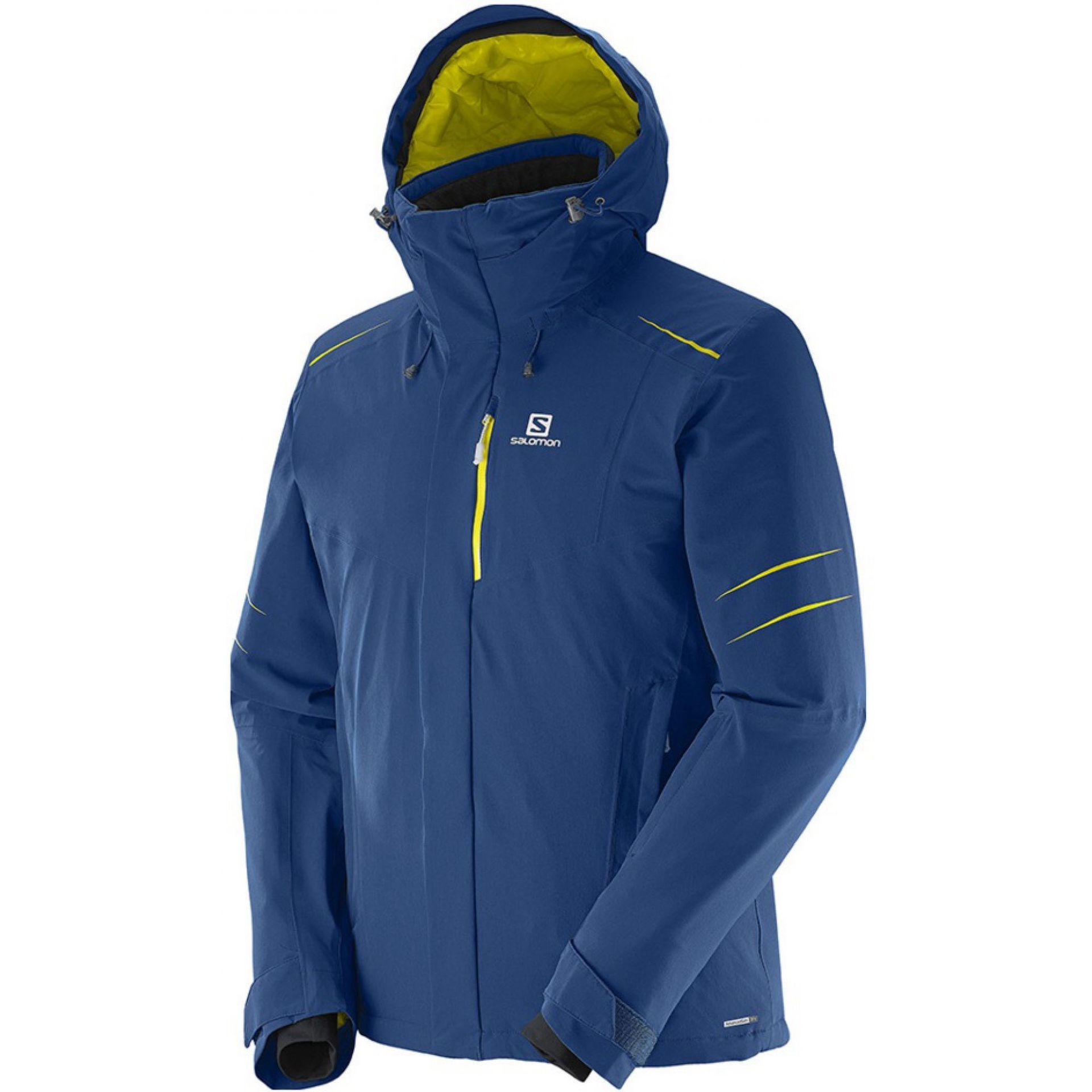 KURTKA SALOMON ICESTORM JACKET MIDNIGHT BLUE