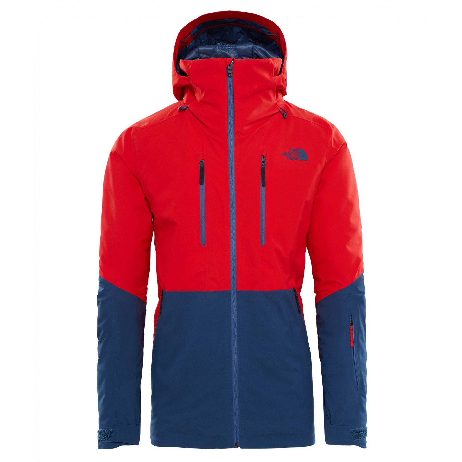 KURTKA THE NORTH FACE ANONYM CENTENNIAL RED|SHADY BLUE 1