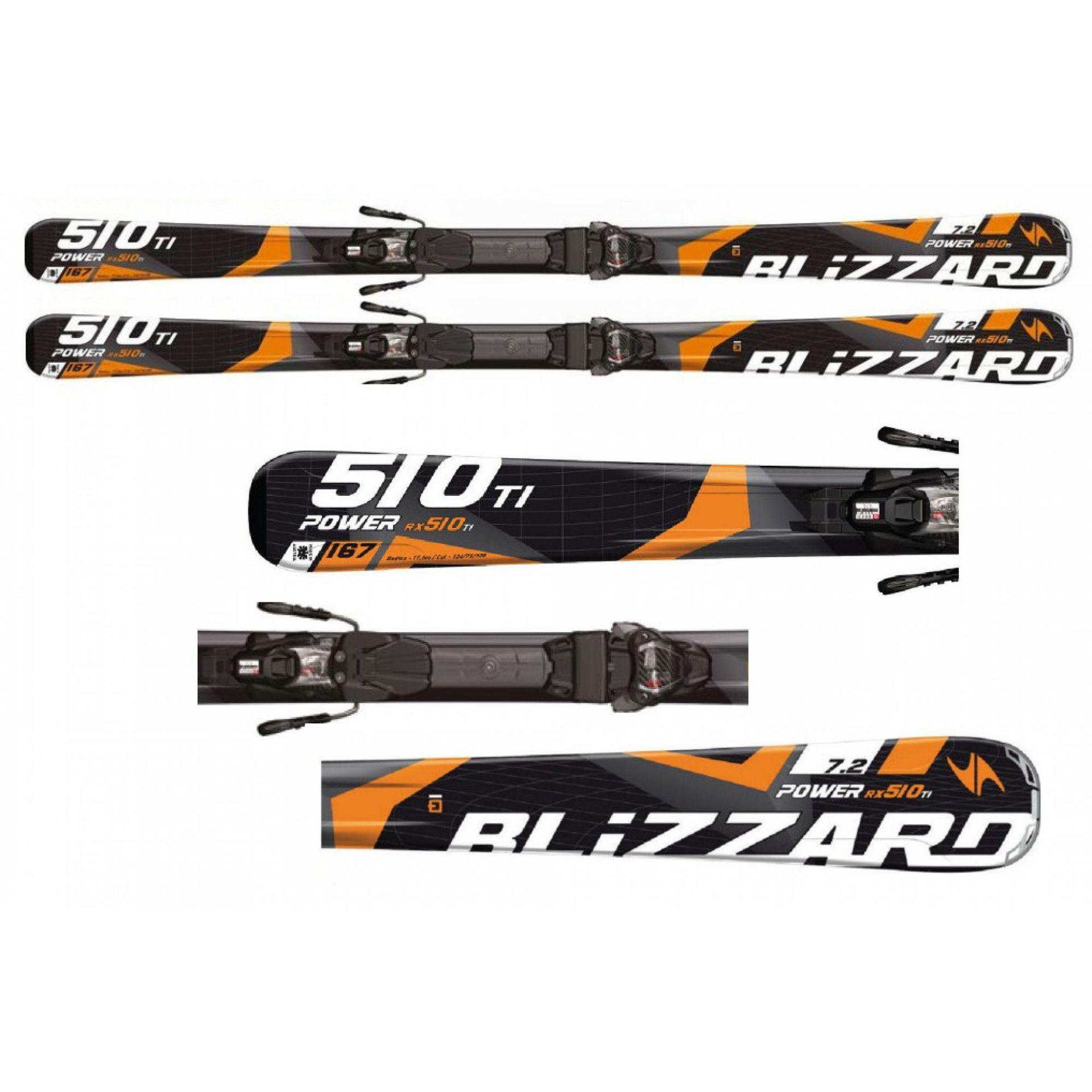 NARTY BLIZZARD POWER 510 RX IQ + WIĄZANIA IQ TP10