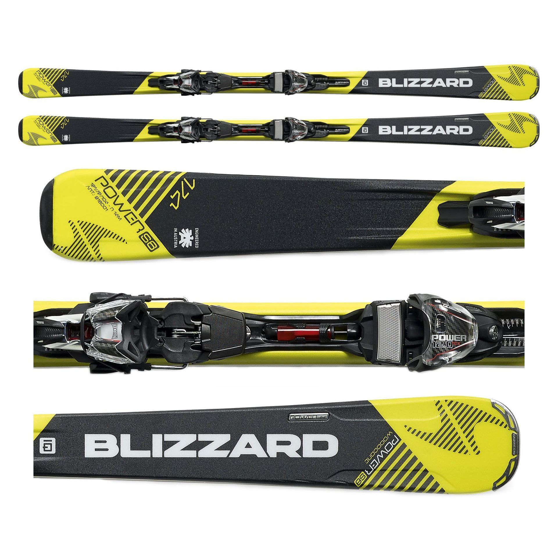 NARTY BLIZZARD POWER S6 + WIĄZANIA POWER12 TCX