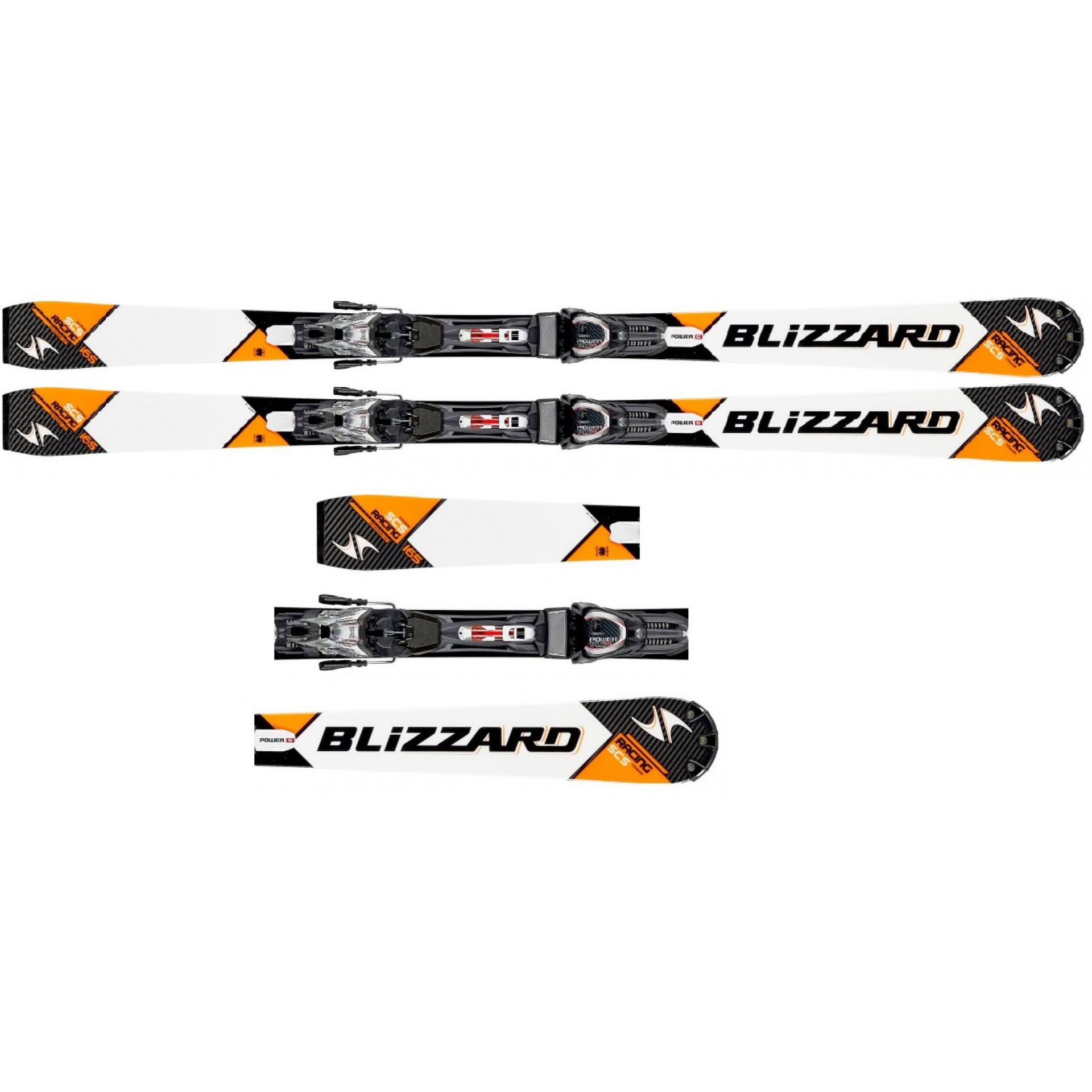 NARTY BLIZZARD SCS RACING SUSPENSION +WIĄZANIA POWER 12 TCX
