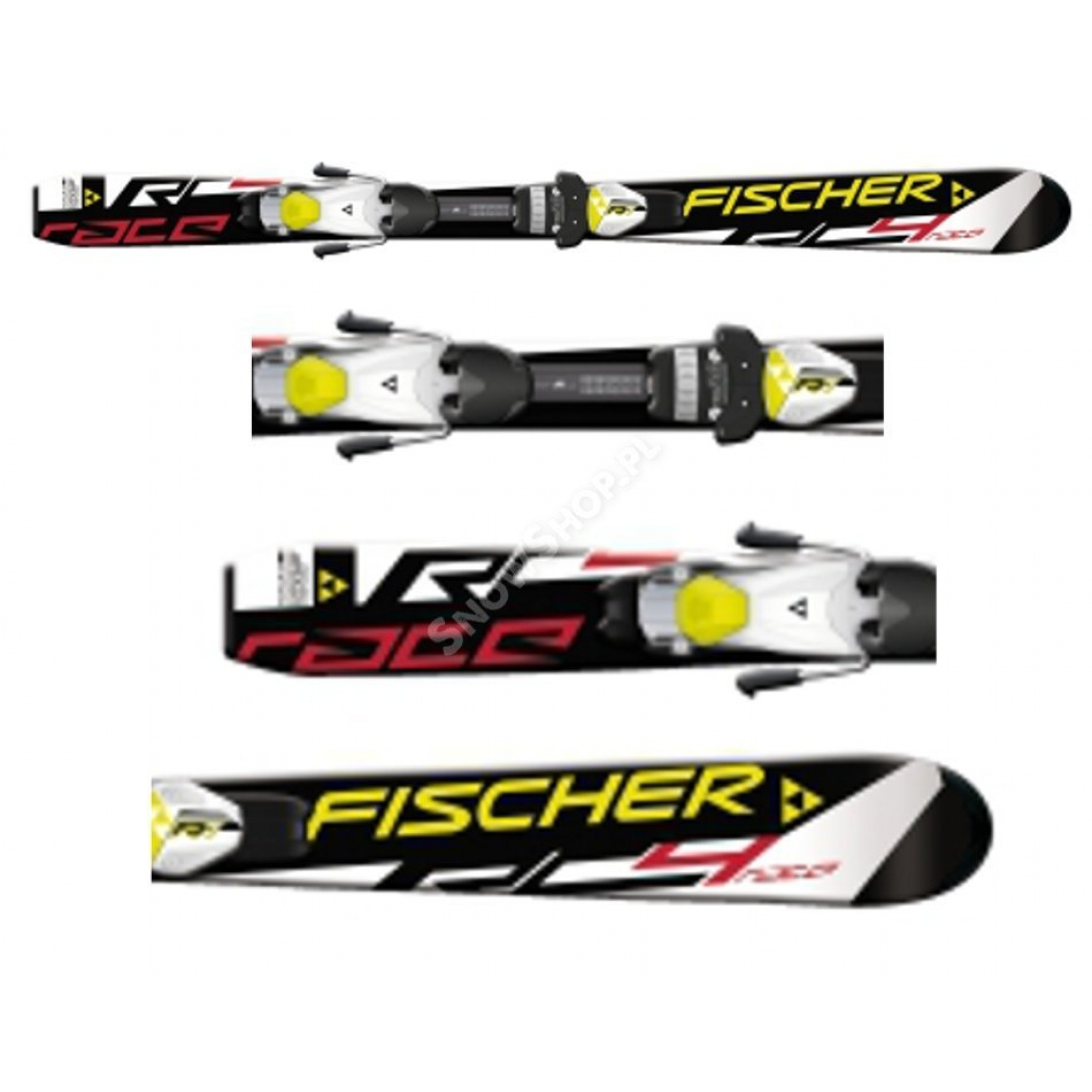 Narty Fischer RC4 Race JR Rail