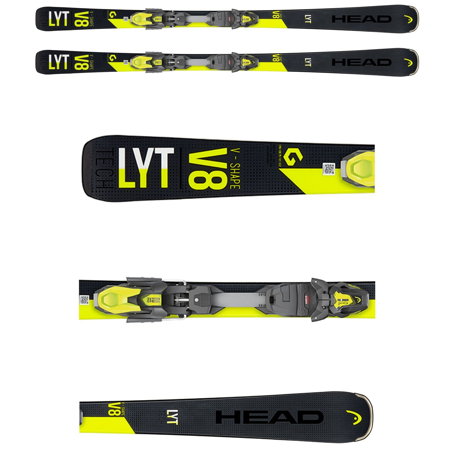NARTY HEAD V-SHAPE V8 2020 + WIĄZANIA PR 11 GW