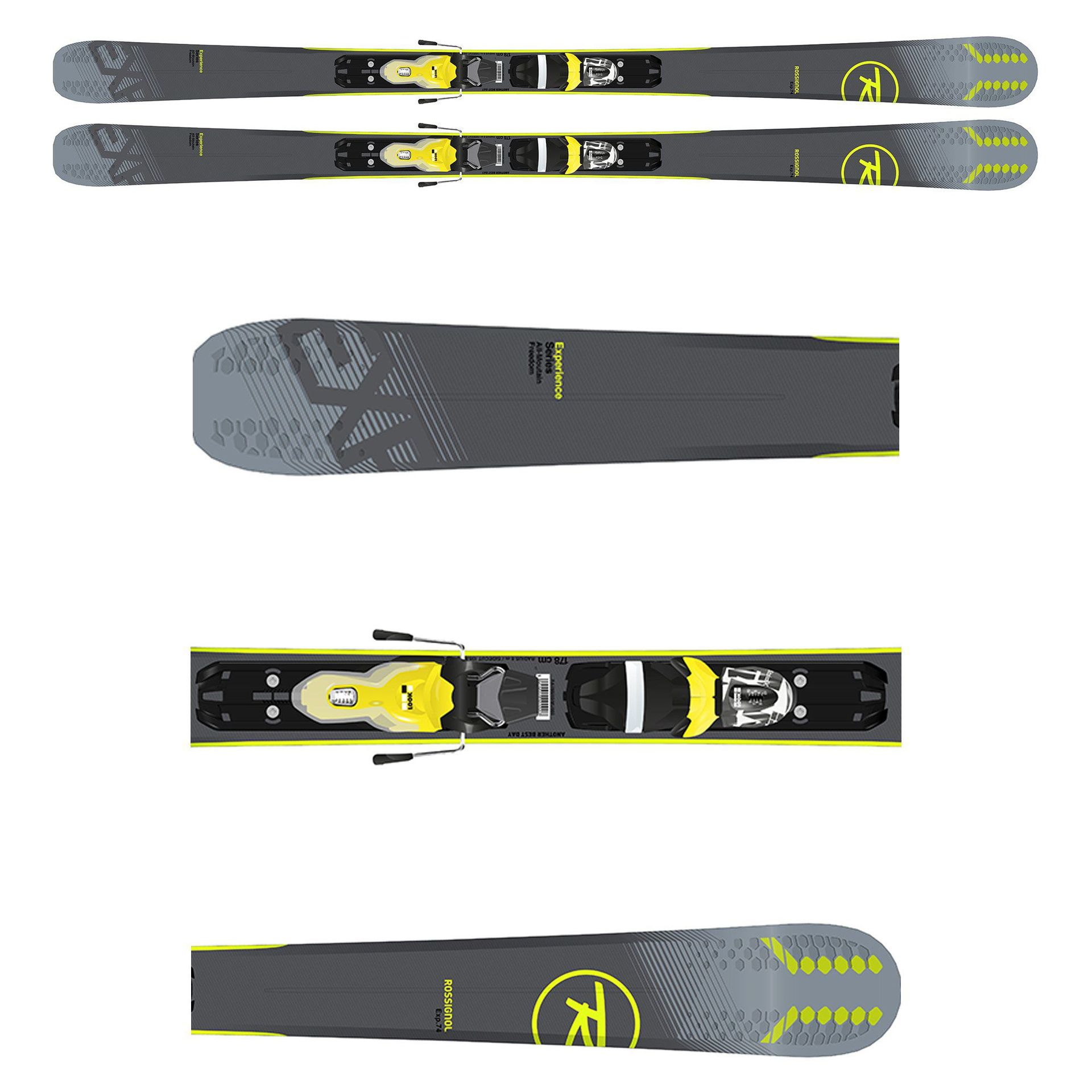 NARTY ROSSIGNOL EXPERIENCE 74 RRH02FG
