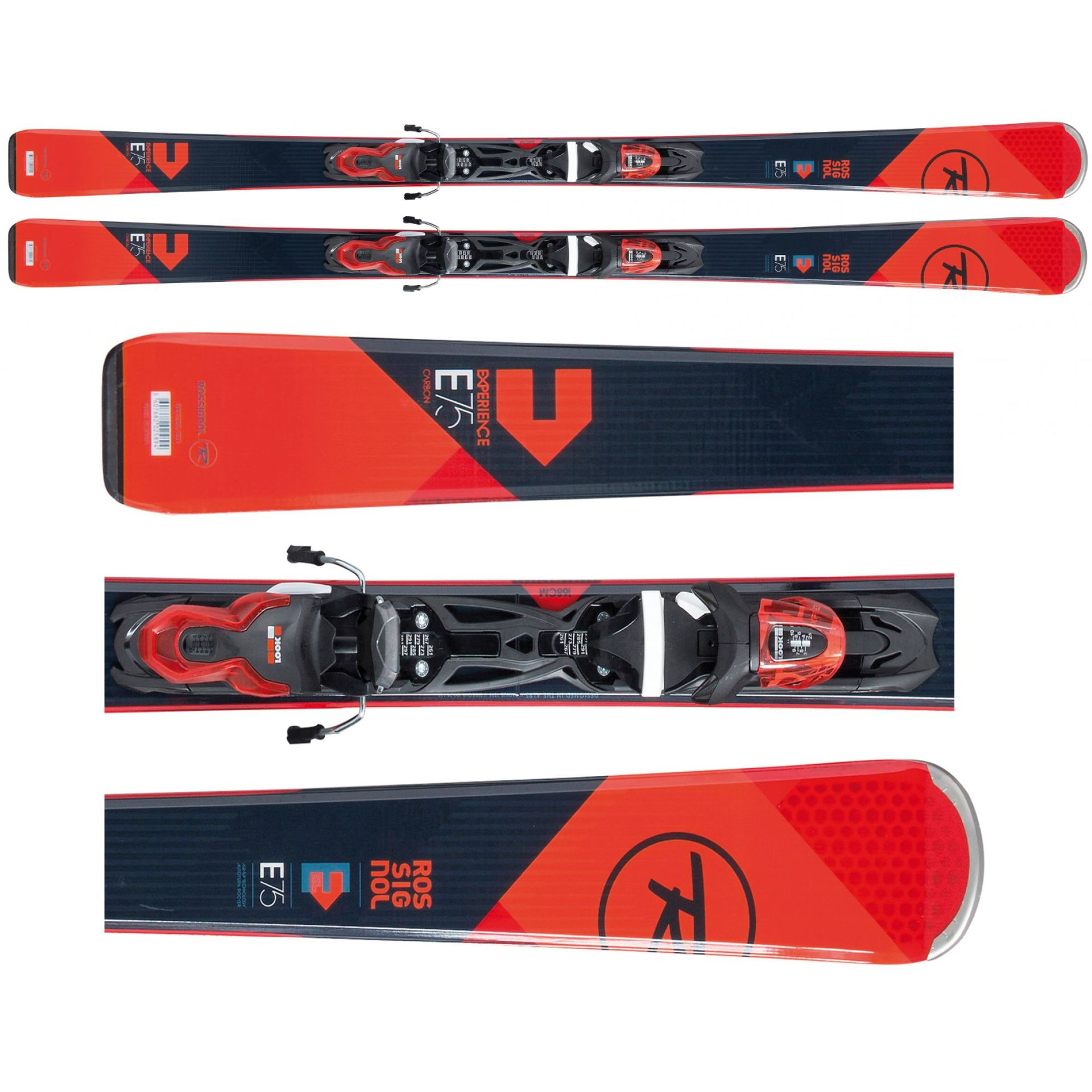 NARTY ROSSIGNOL EXPERIENCE 75 CA