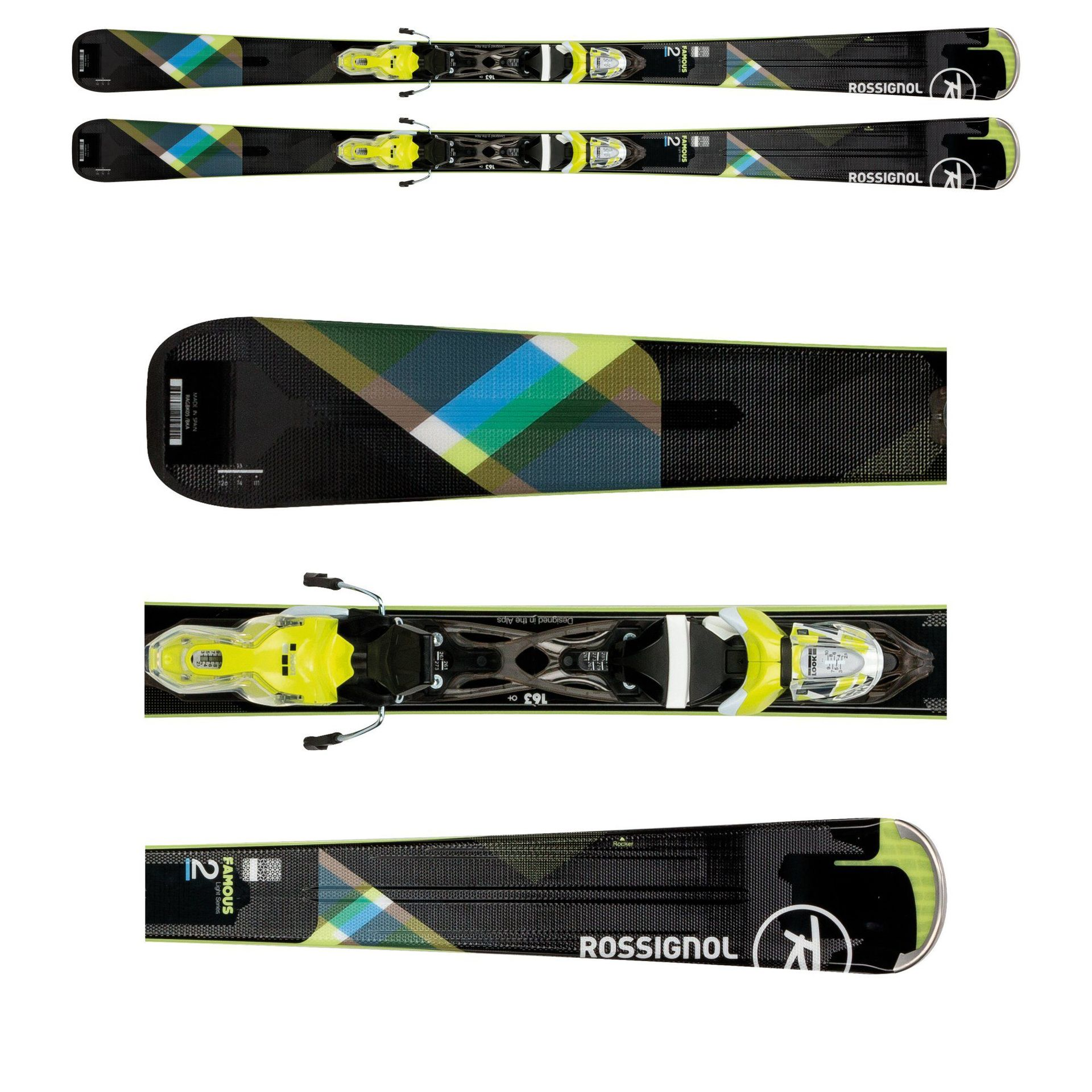 NARTY ROSSIGNOL FAMOUS 2 RRG05BK 1