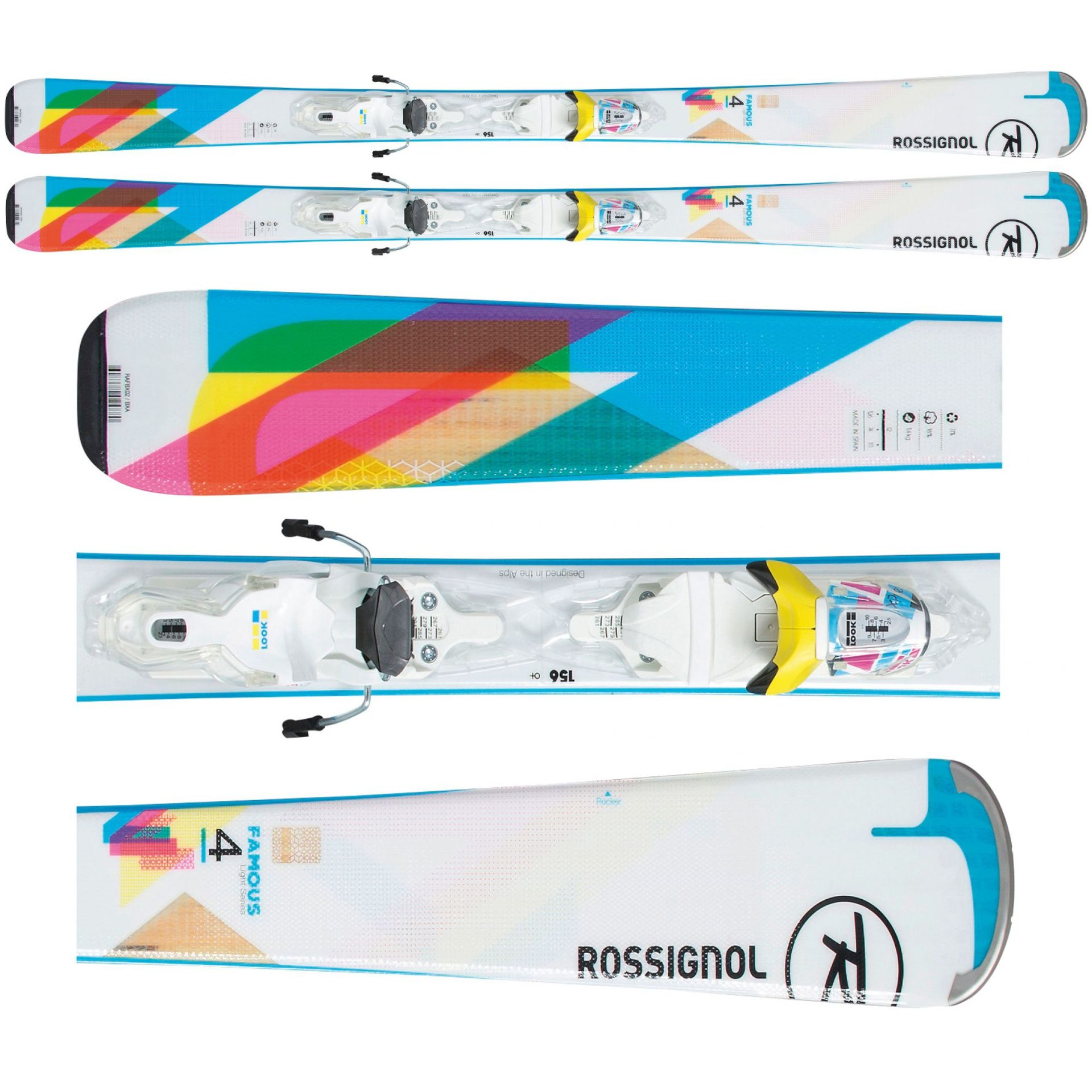NARTY ROSSIGNOL FAMOUS 4