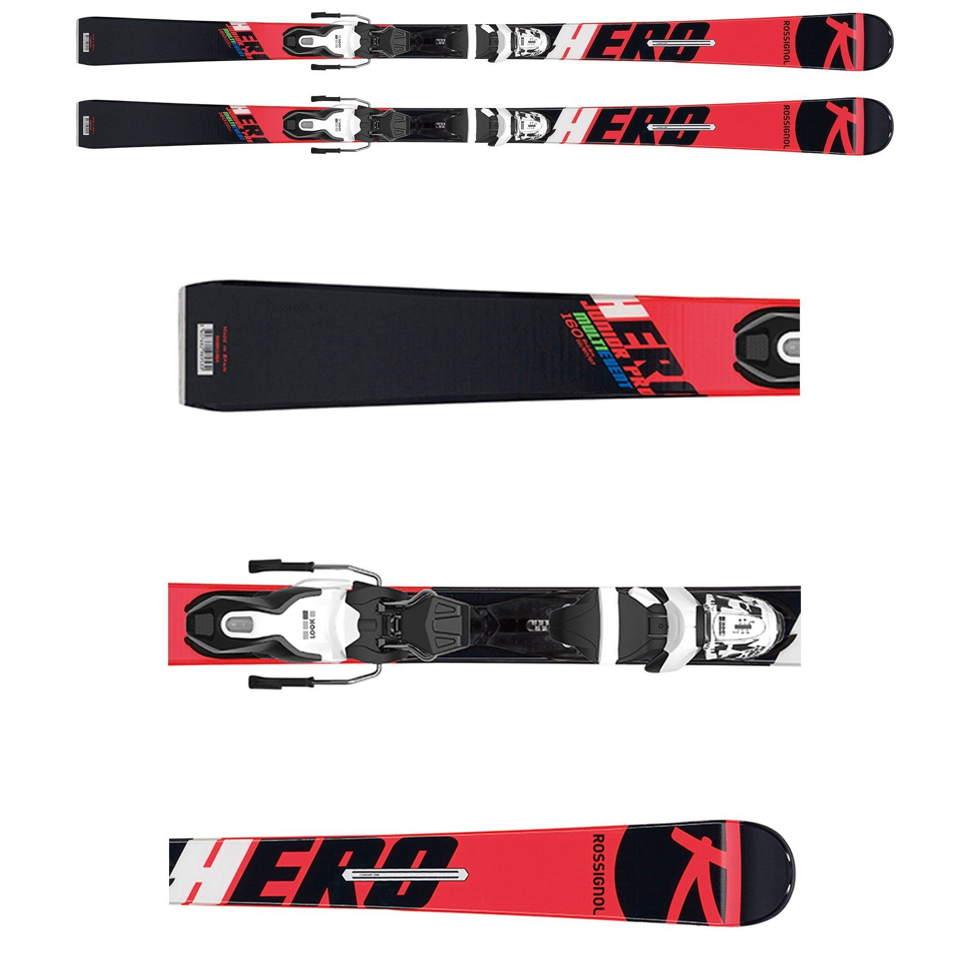 NARTY ROSSIGNOL HERO JUNIOR MULTI-EVENT RRI02BB