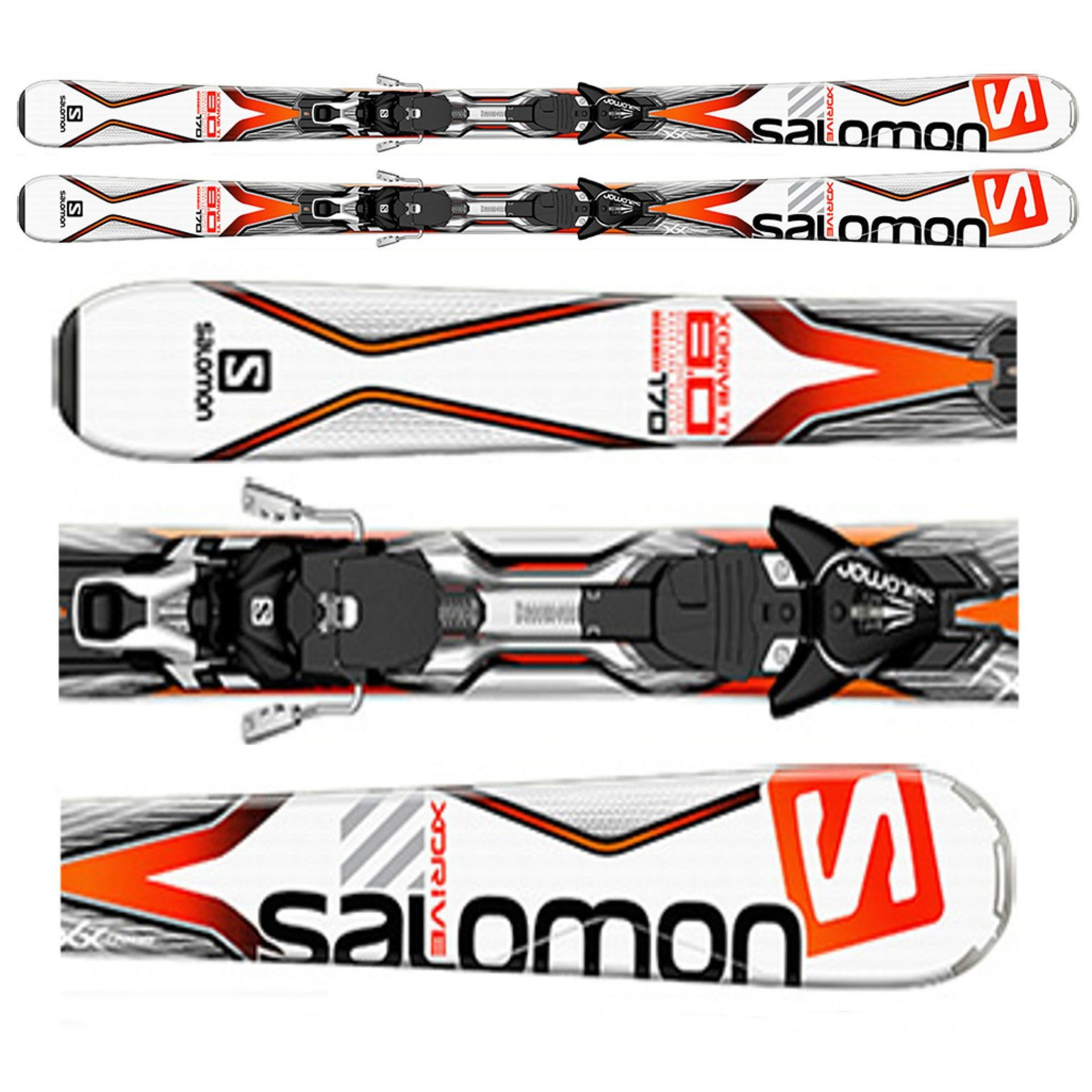 NARTY SALOMON X-DRIVE 8.0 TI 2