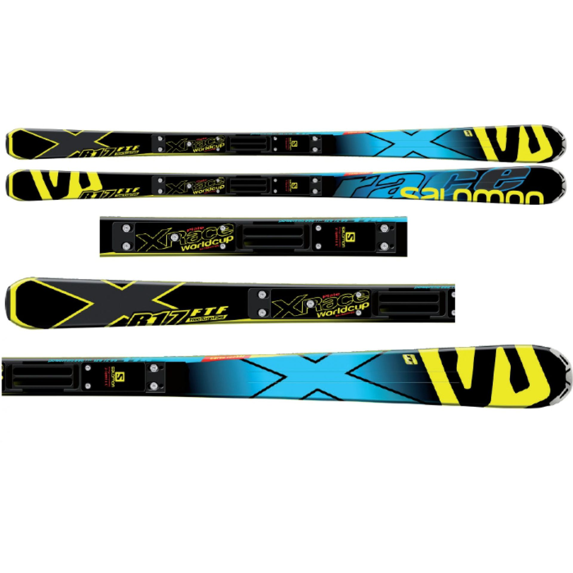 NARTY SALOMON X-RACE + RACE PLATE XX