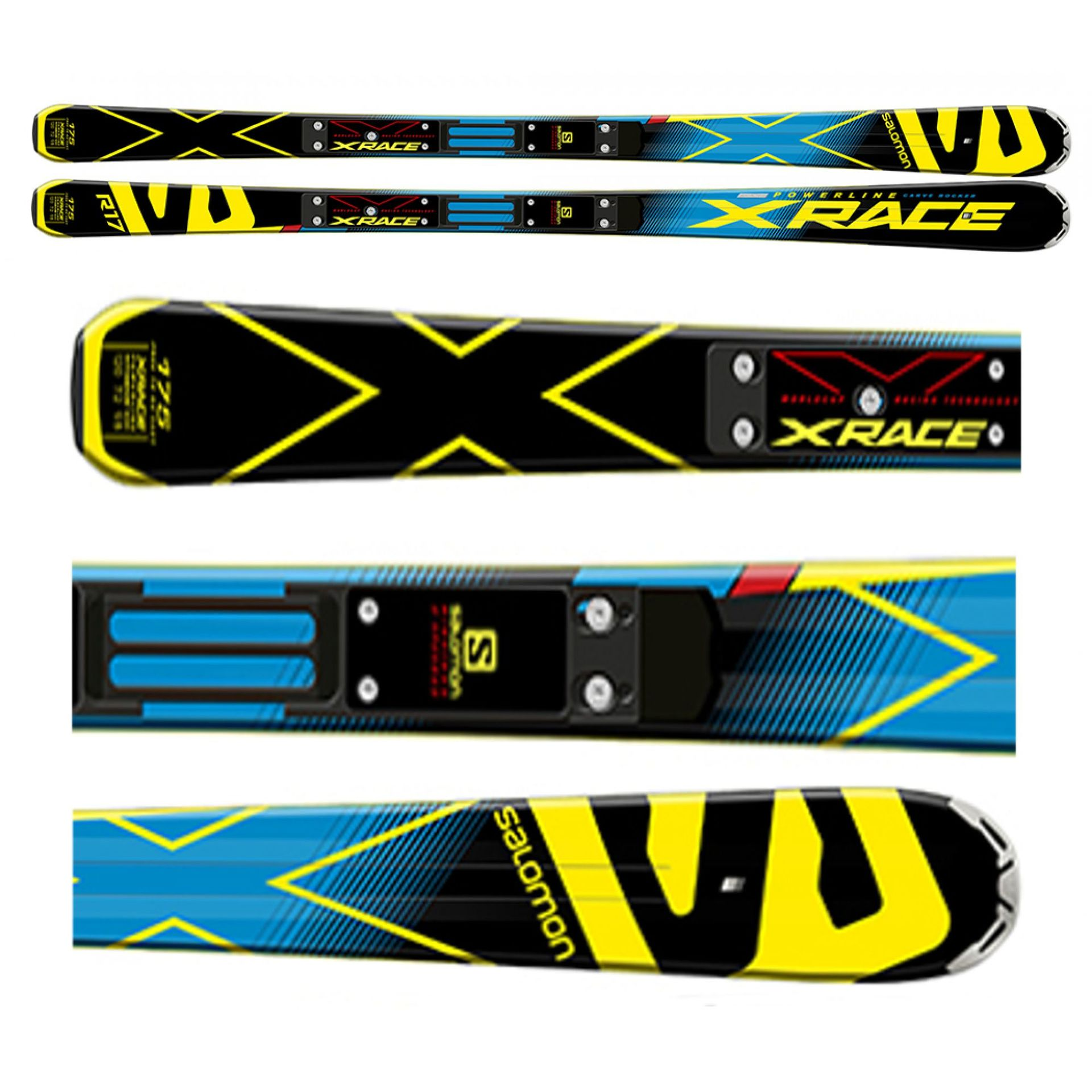 NARTY SALOMON X-RACE RACE PLATE XX 8