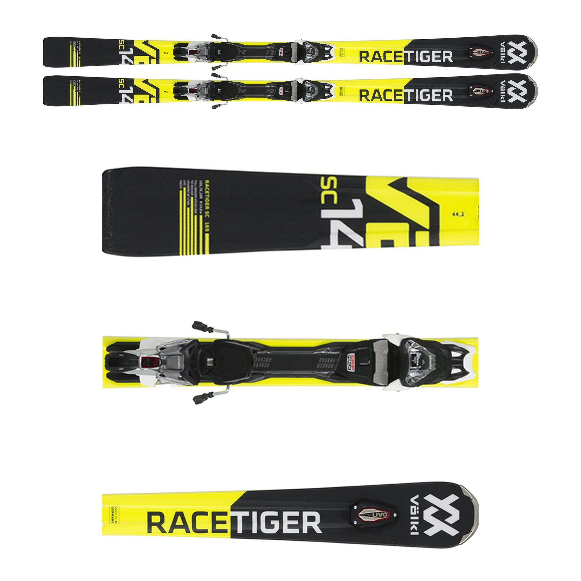 NARTY VOLKL RACETIGER SC BLACK 118061
