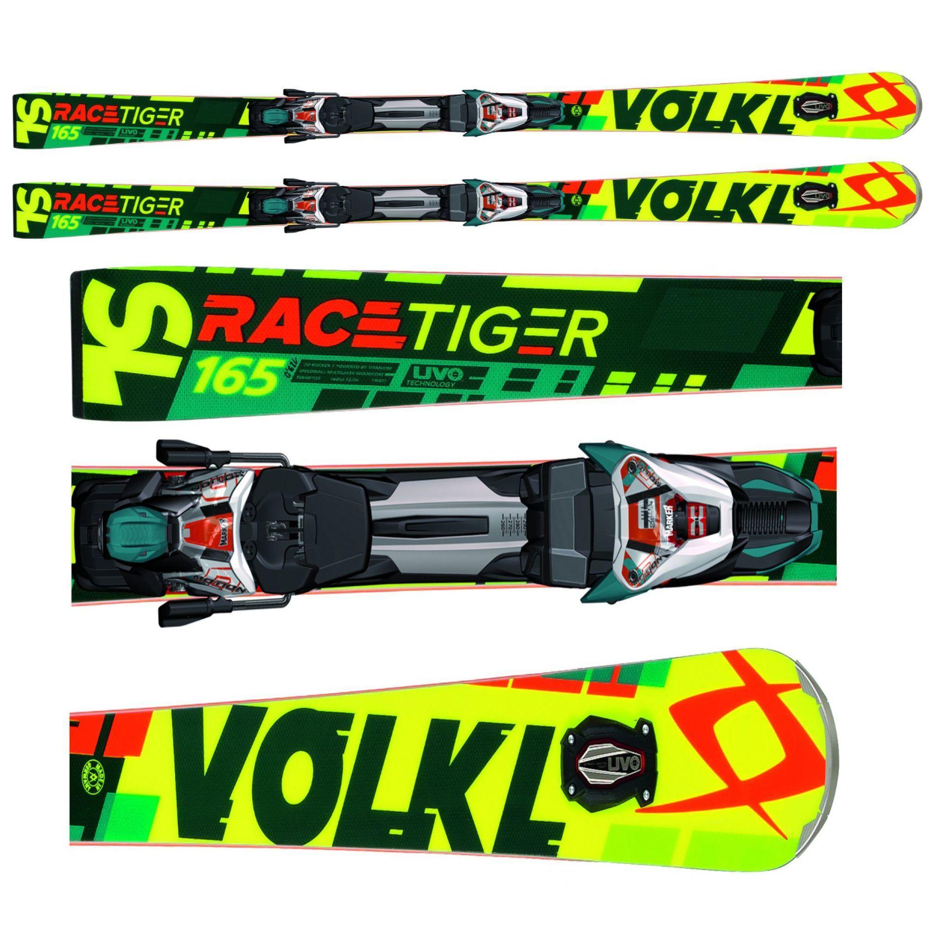 NARTY VOLKL RACETIGER SPEEDWALL SL UVO WIĄZANIA RMOTION 2 12.0 D RACE