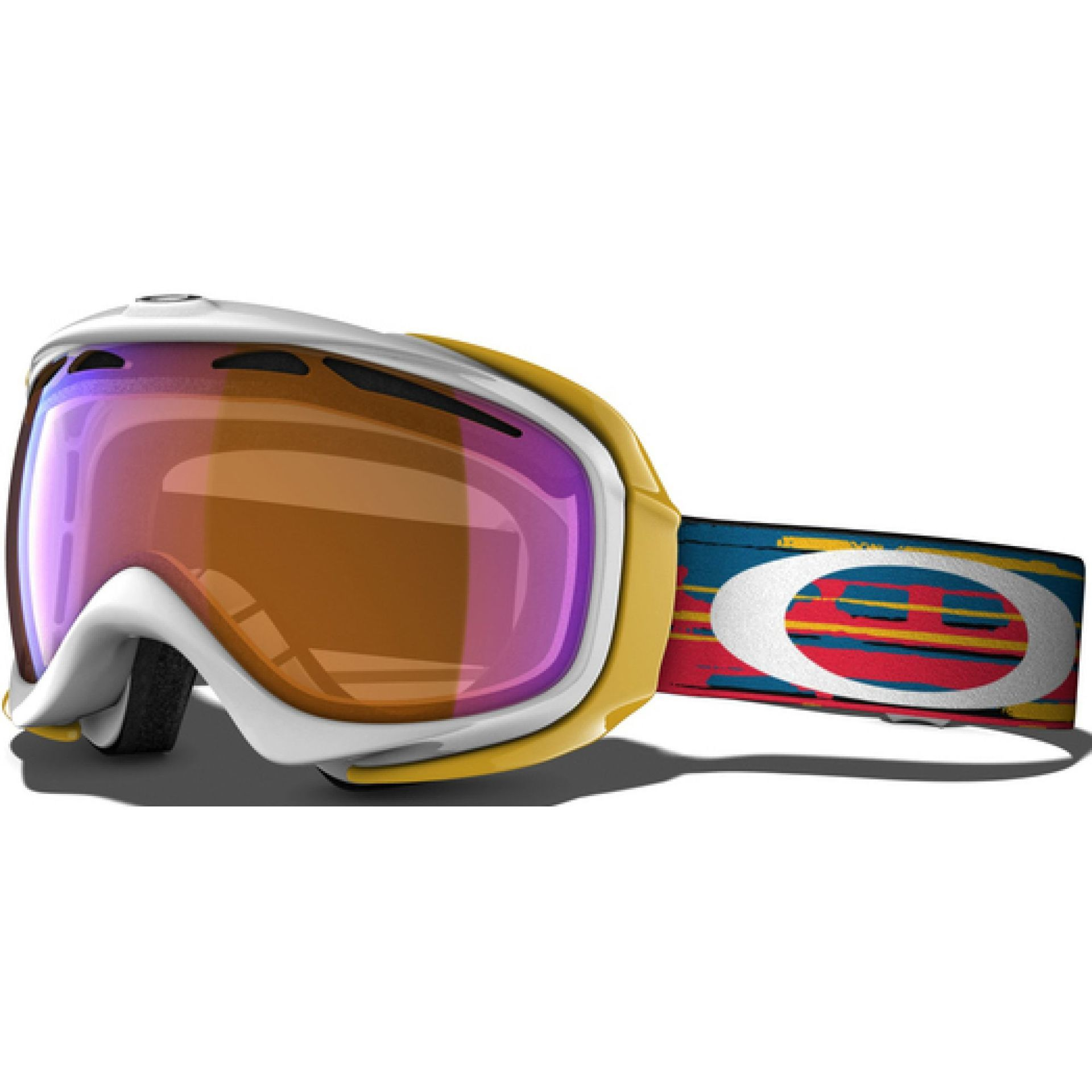 GOGLE OAKLEY ELEVATE HI INTESITIVE PERSIMMON