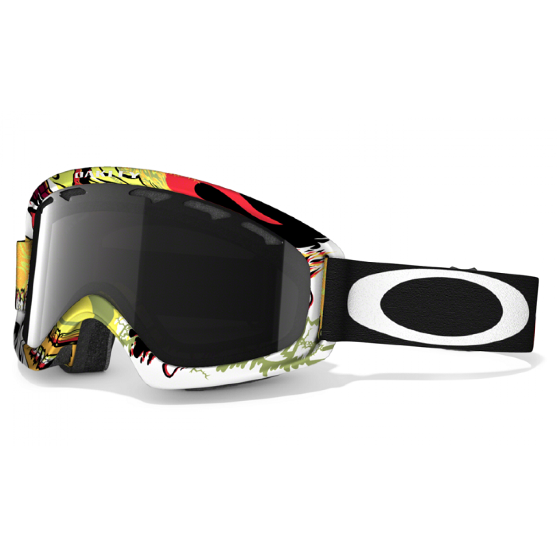 OAKLEY O2 XS MOUTAIN MONSTER RED DARK GREY