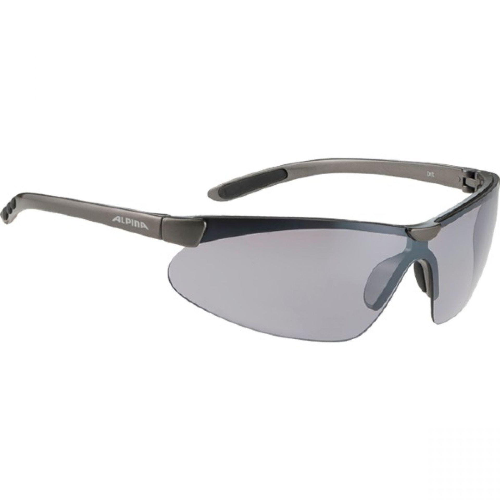 Okulary Alpina Drift czarno szare