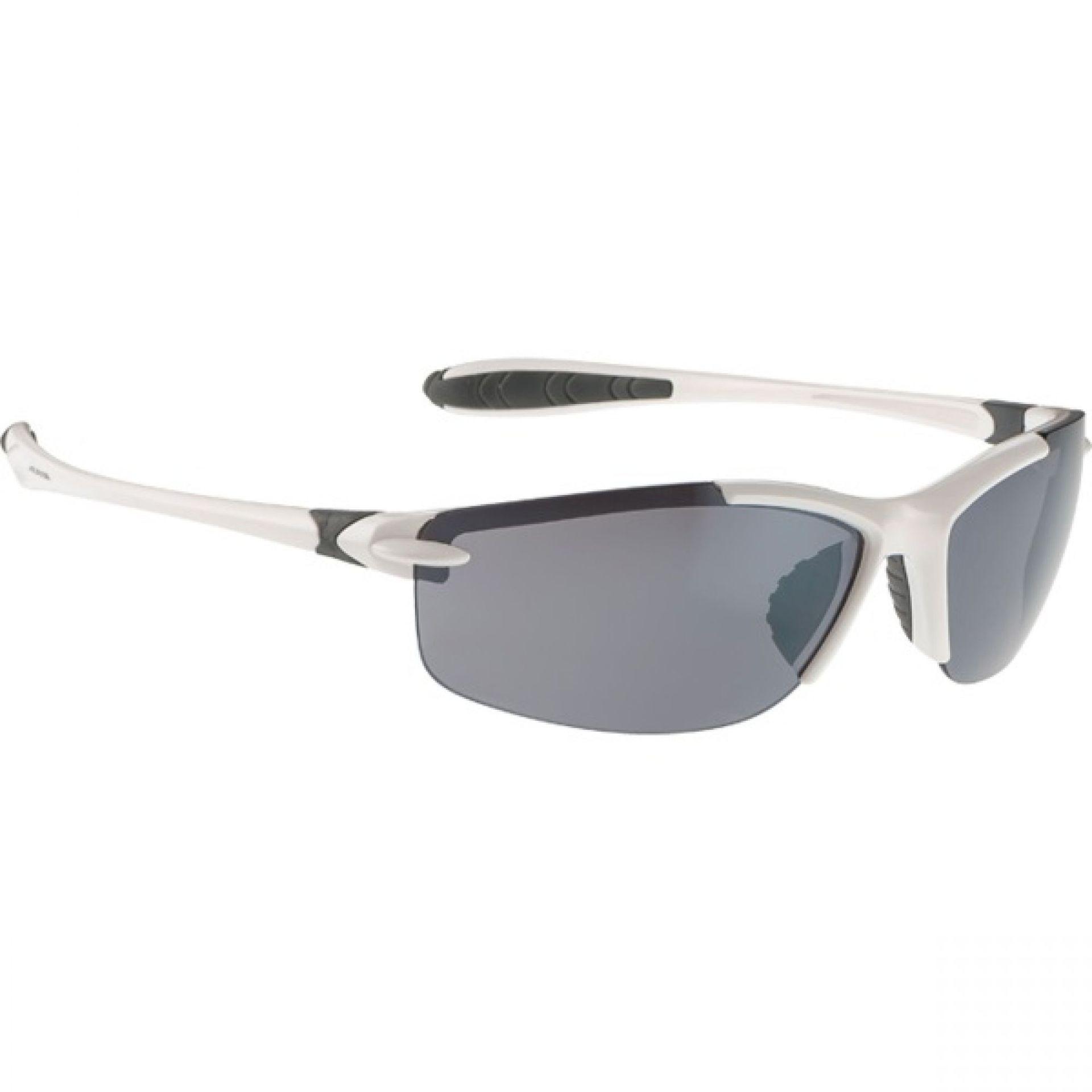 Okulary Alpina Glyder biało czarne