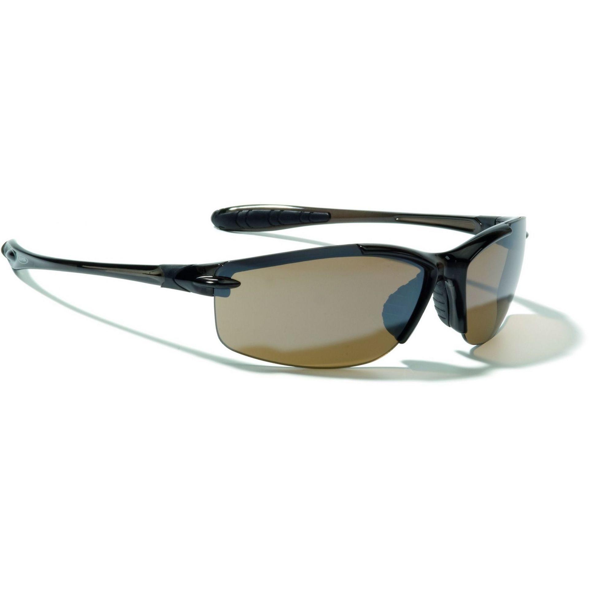 Okulary Alpina Glyder czarno brązowe