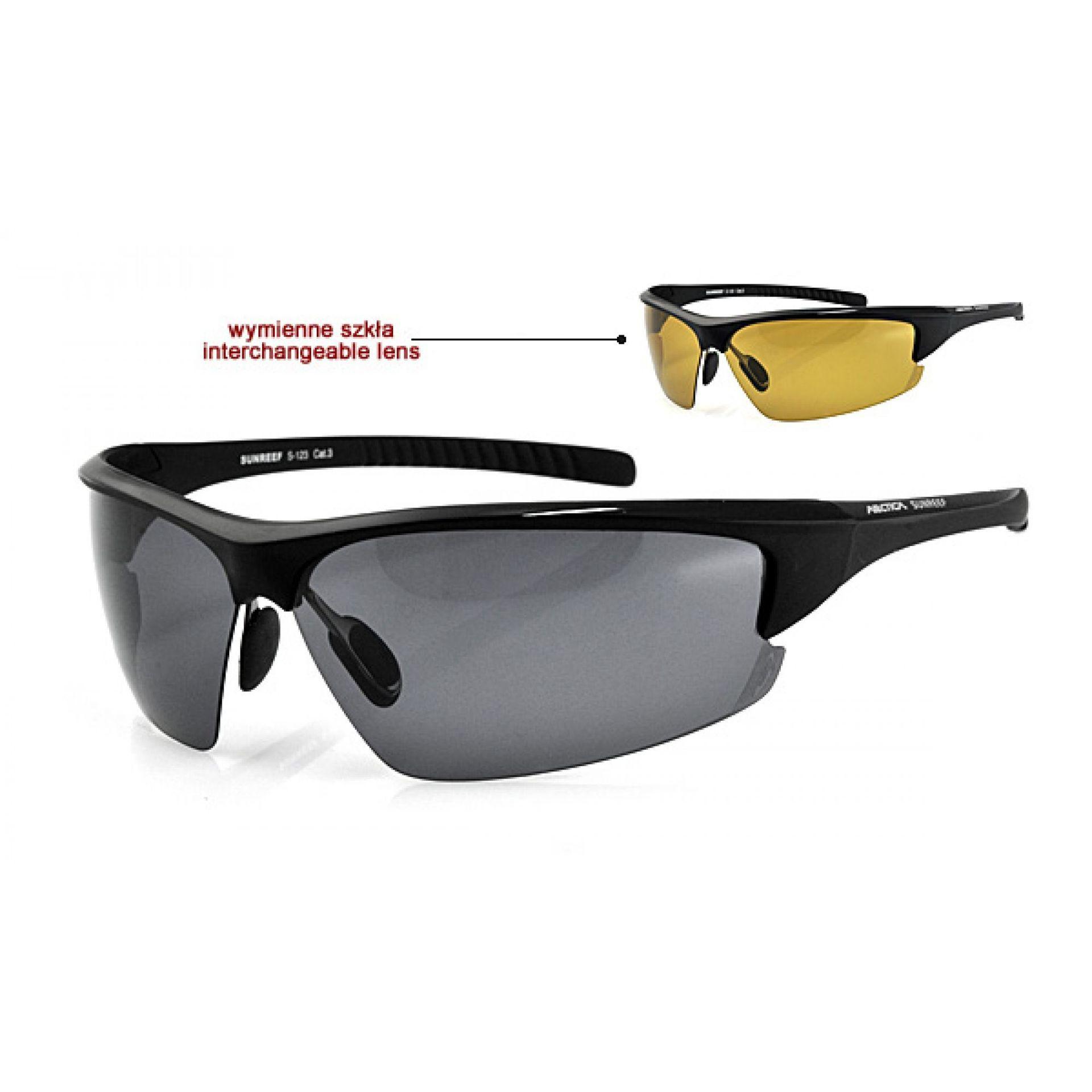 Okulary Arctica S-123 czarne