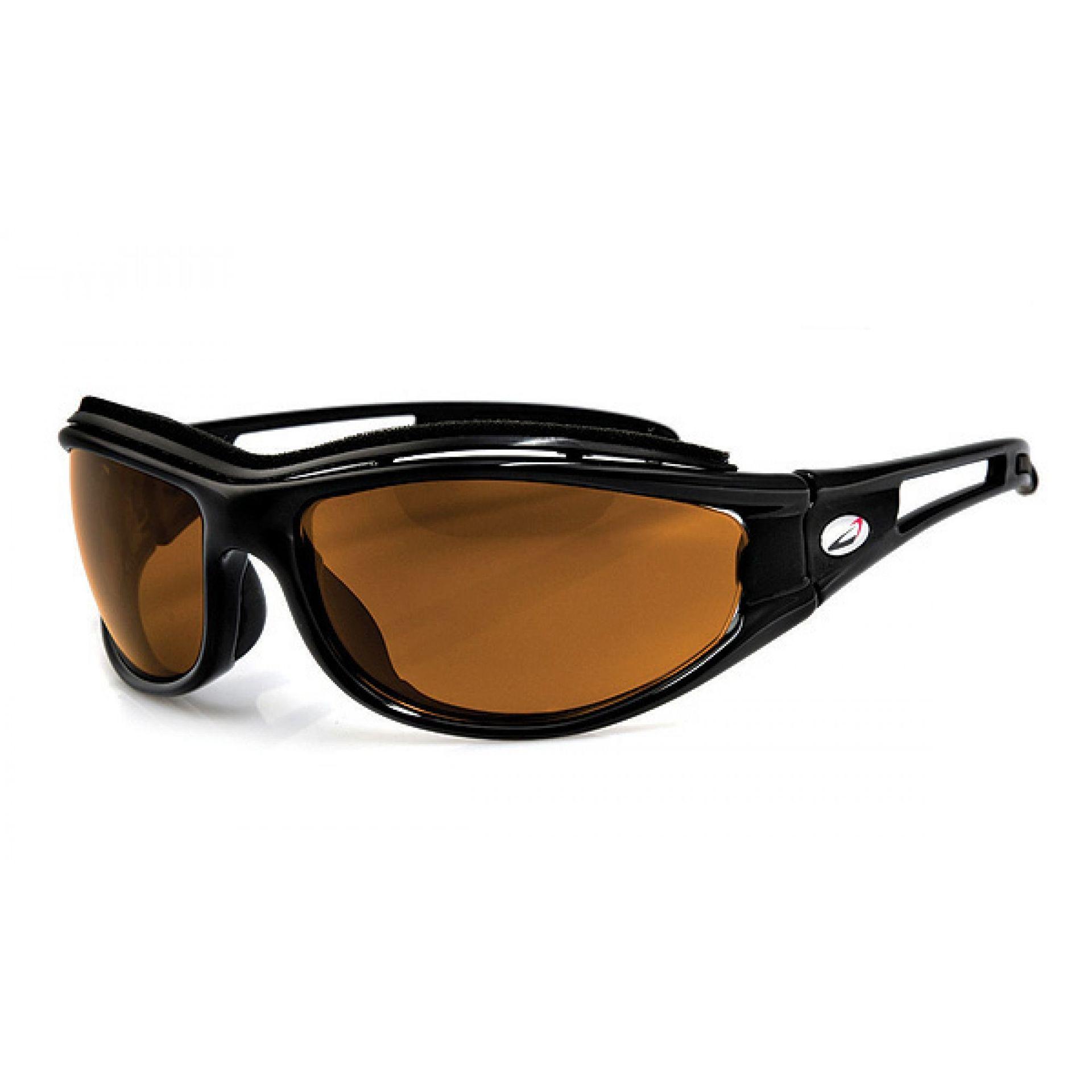 Okulary Arctica S-144A czarno pomarańczowe