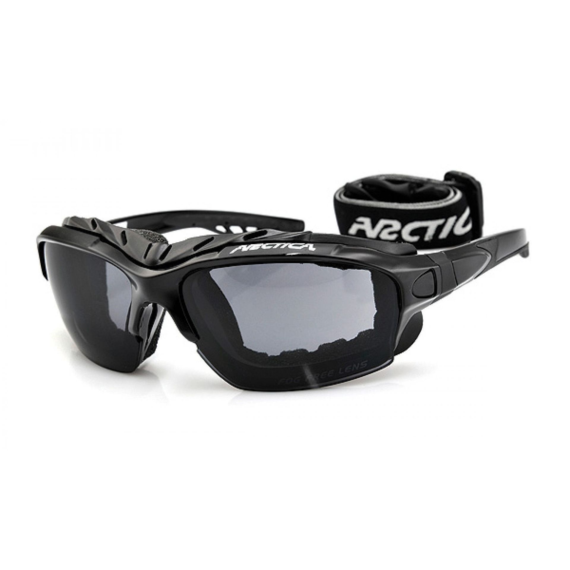 Okulary Arctica S-163 czarno szare