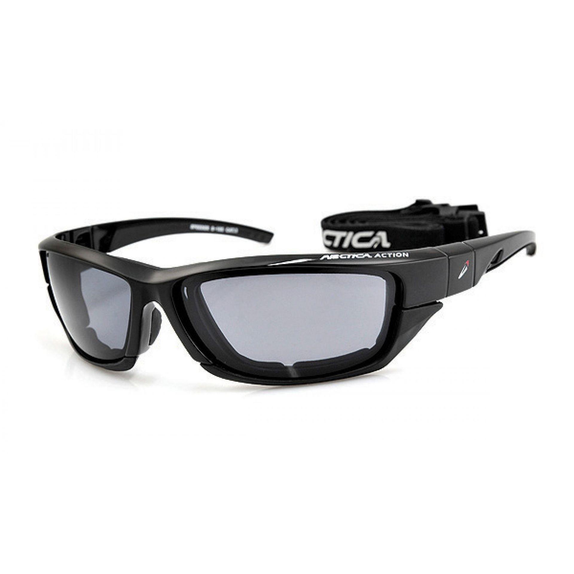 Okulary Arctica S-165 czarno szare