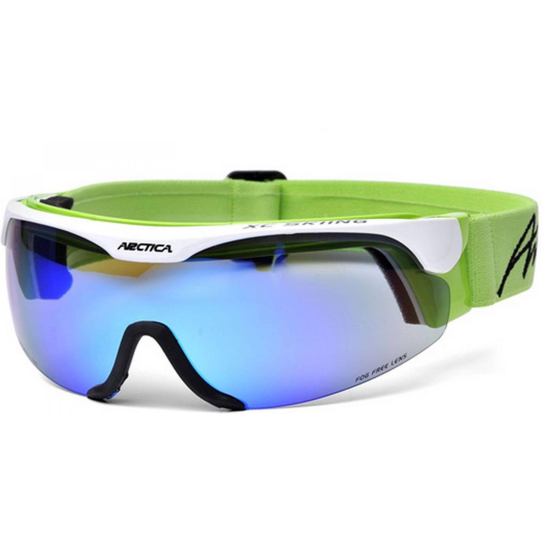 Okulary Arctica S-167C biało zielone