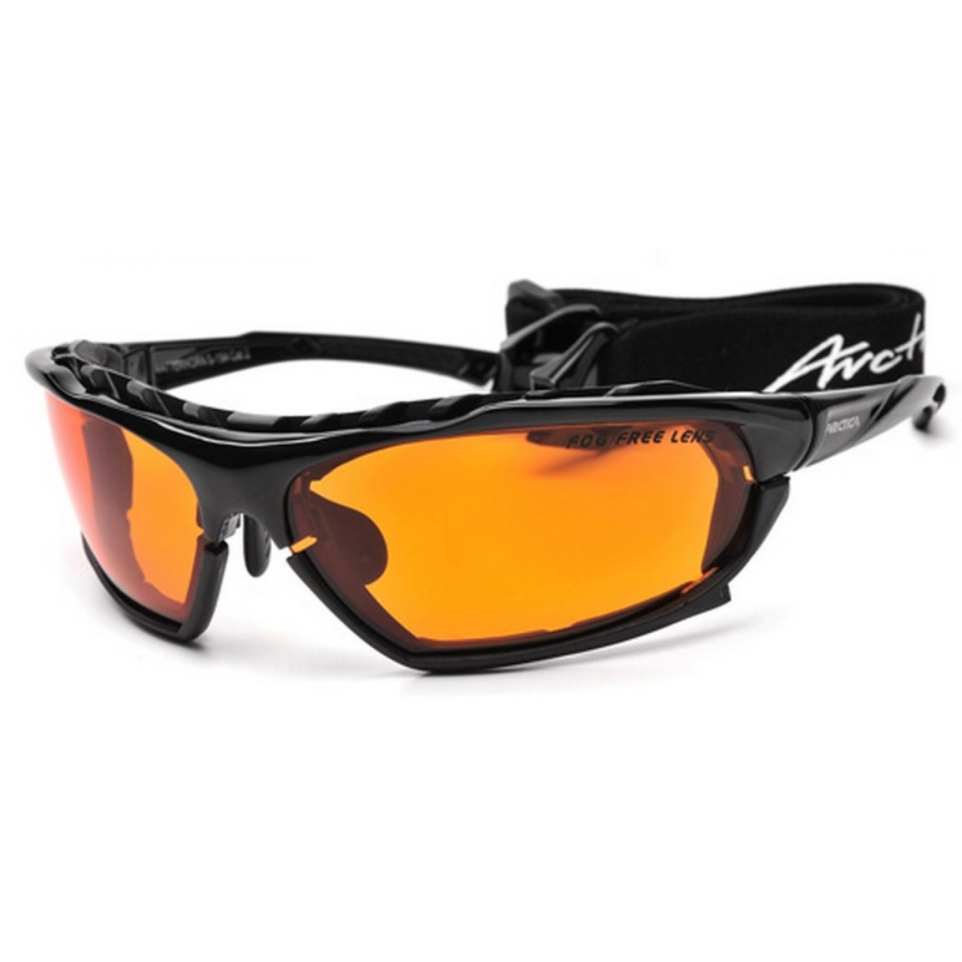 Okulary Arctica S-194 czarno pomarańczowe
