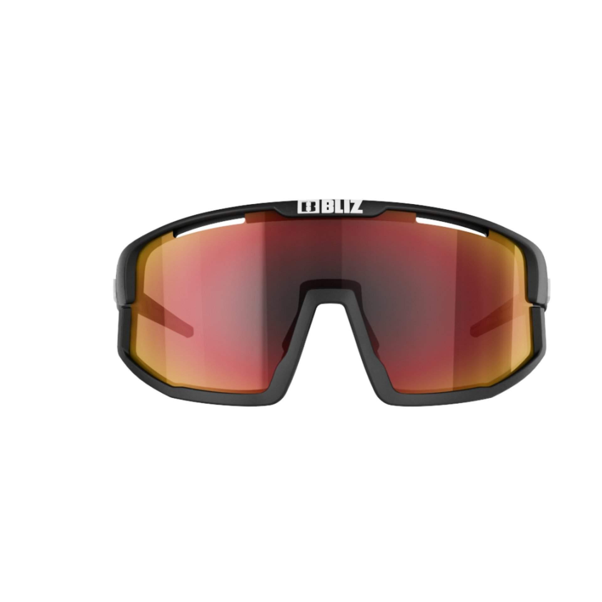 OKULARY BLIZ VISION BLACK BROWN W RED MULTI 52001 14 Z PRZODU
