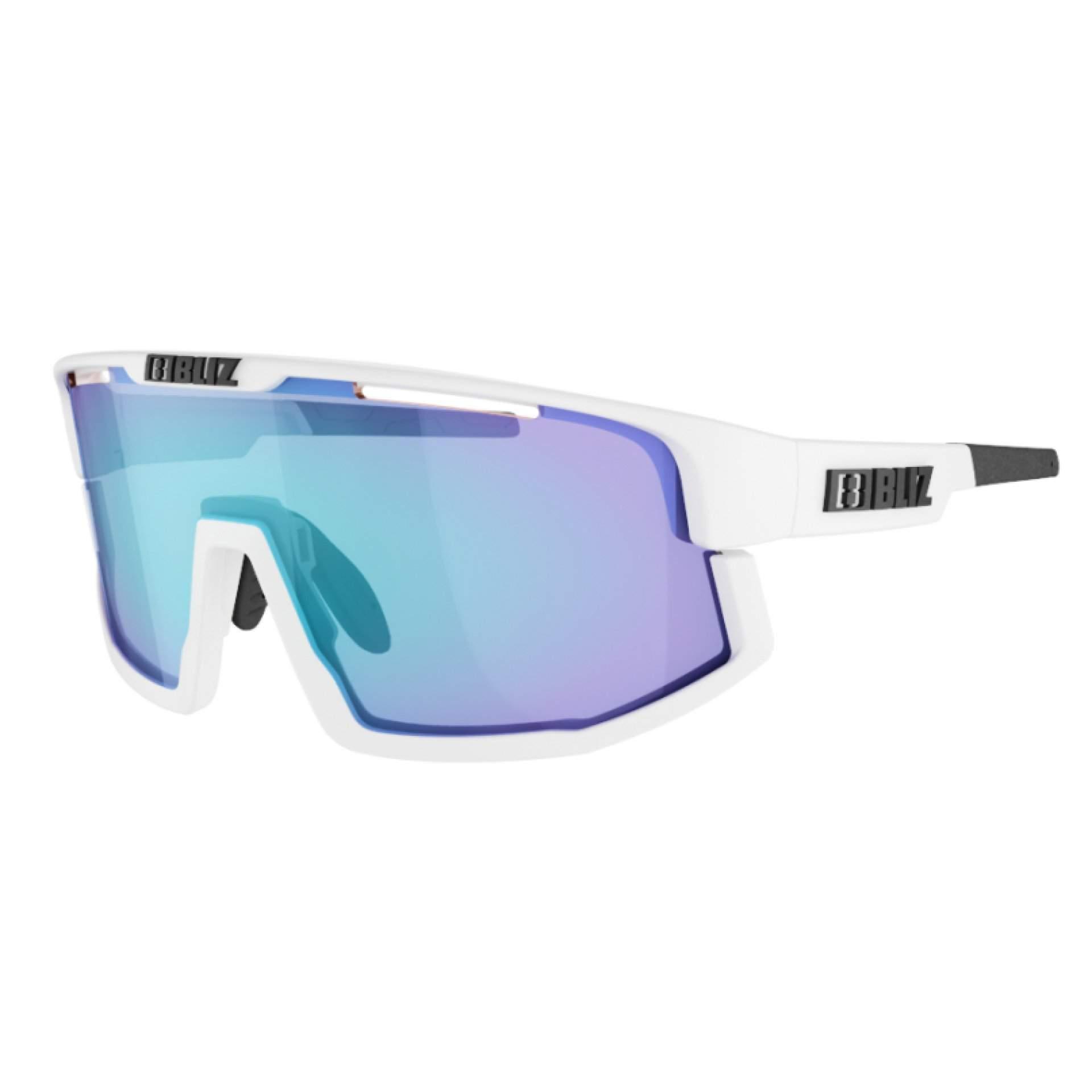 OKULARY BLIZ VISION WHITE SMOKE W BLUE MULTI 52001 03