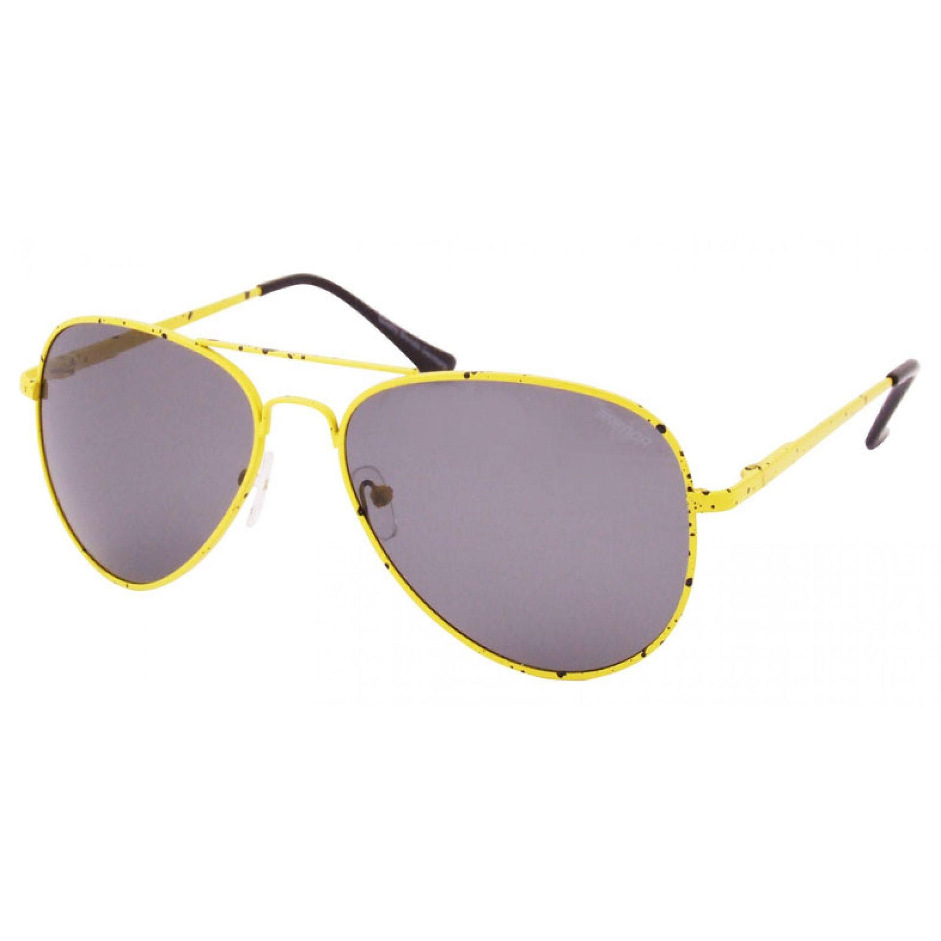 Okulary Brenda M7048-HM żółte
