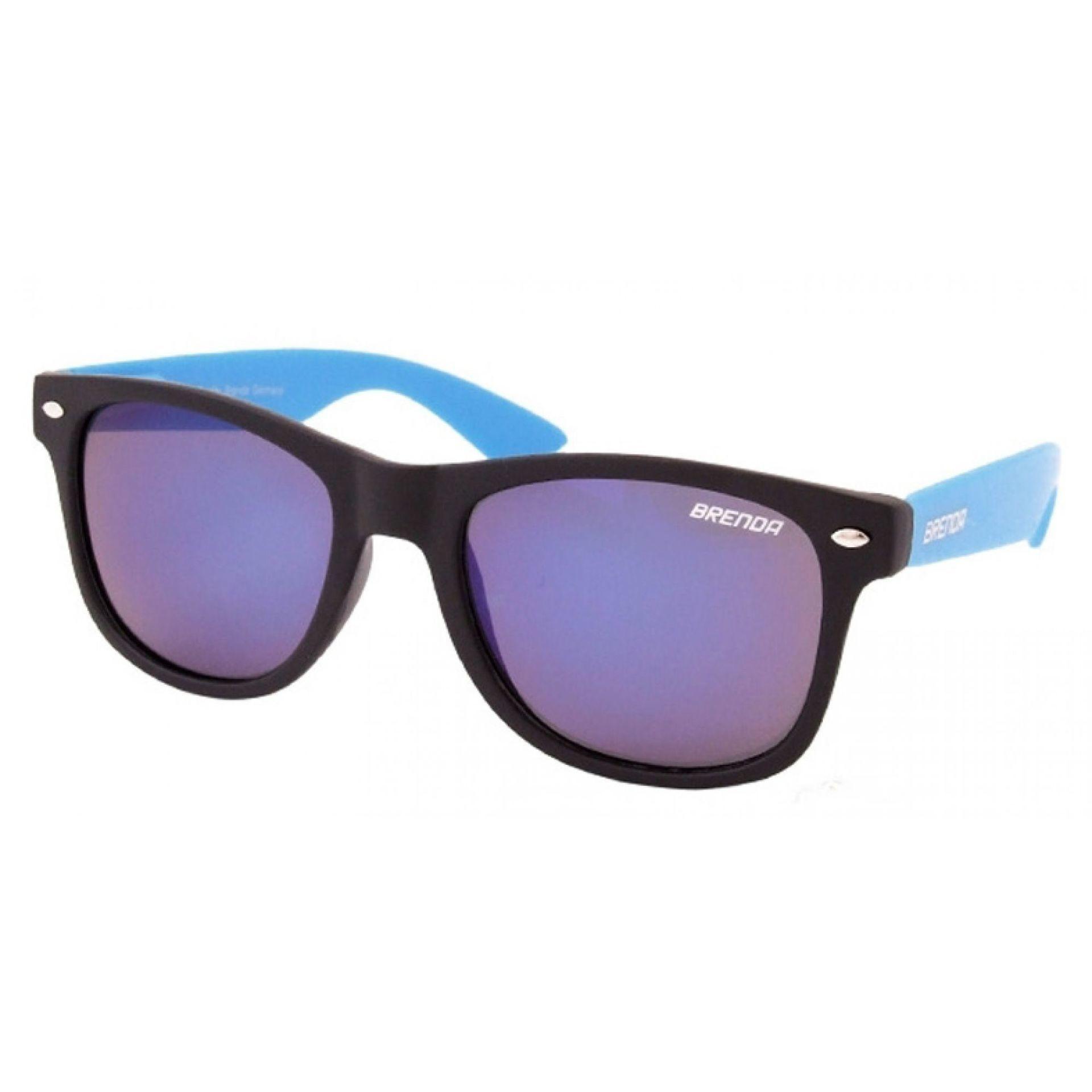Okulary Brenda P8001-KL05 czarno niebieskie