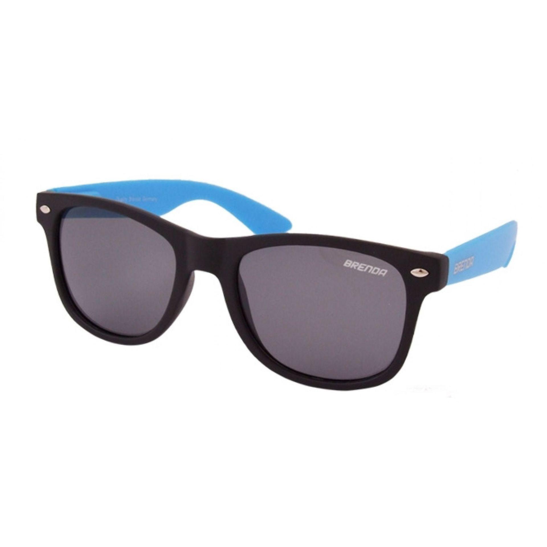 Okulary Brenda P8001-KL06 czarno niebieskie