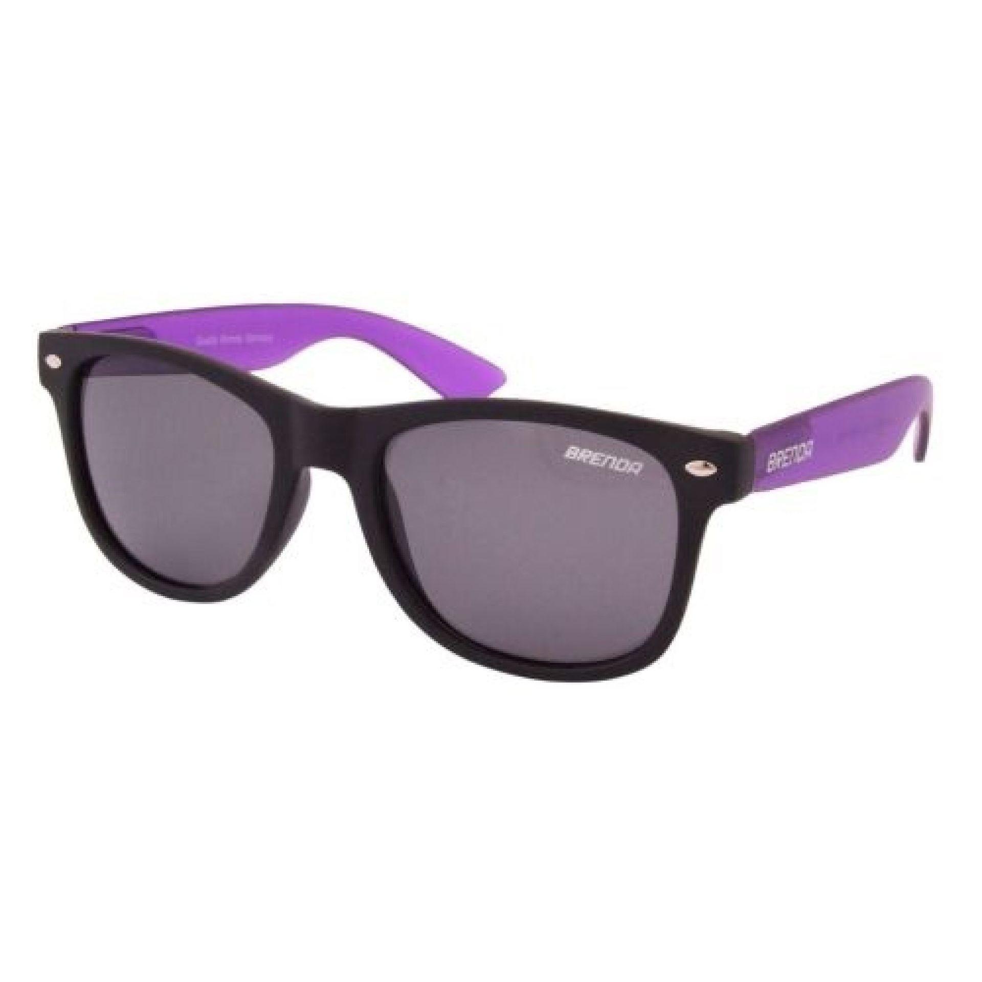 Okulary Brenda P8001-KL10 czarno fioletowe