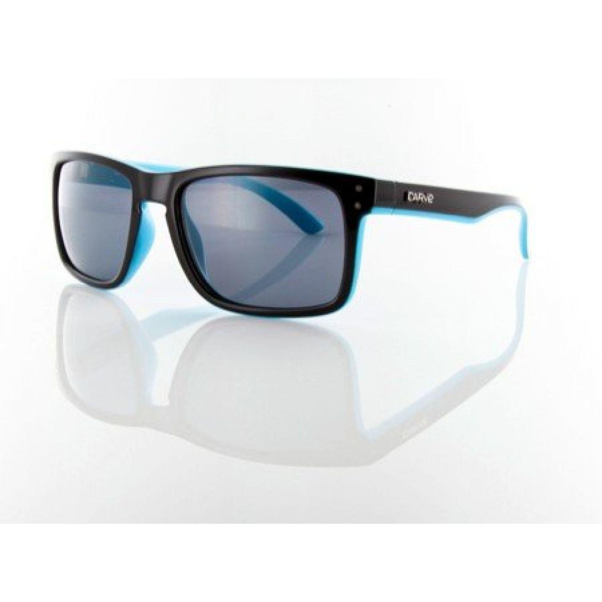 Okulary Carve Goblin czarno niebieskie