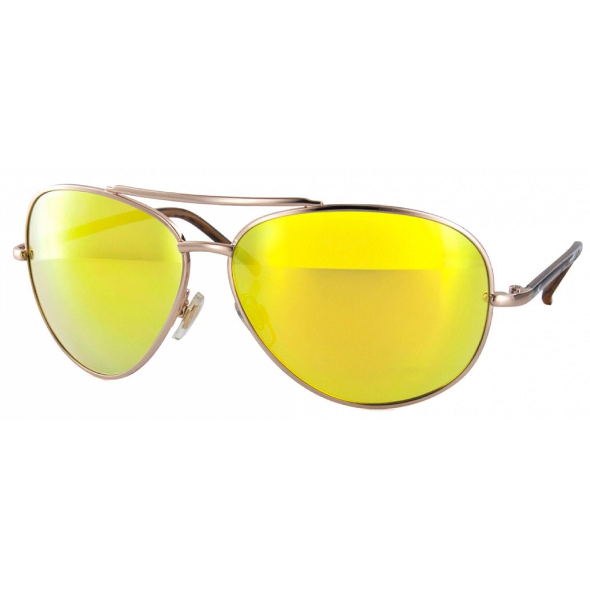 Okulary Carve Top Dog srebrne złote