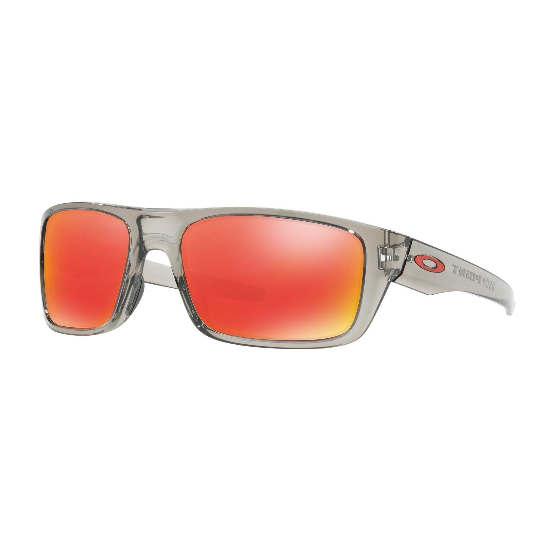 OKULARY OAKLEY DROP POINT GRAY INK|RUBY INK