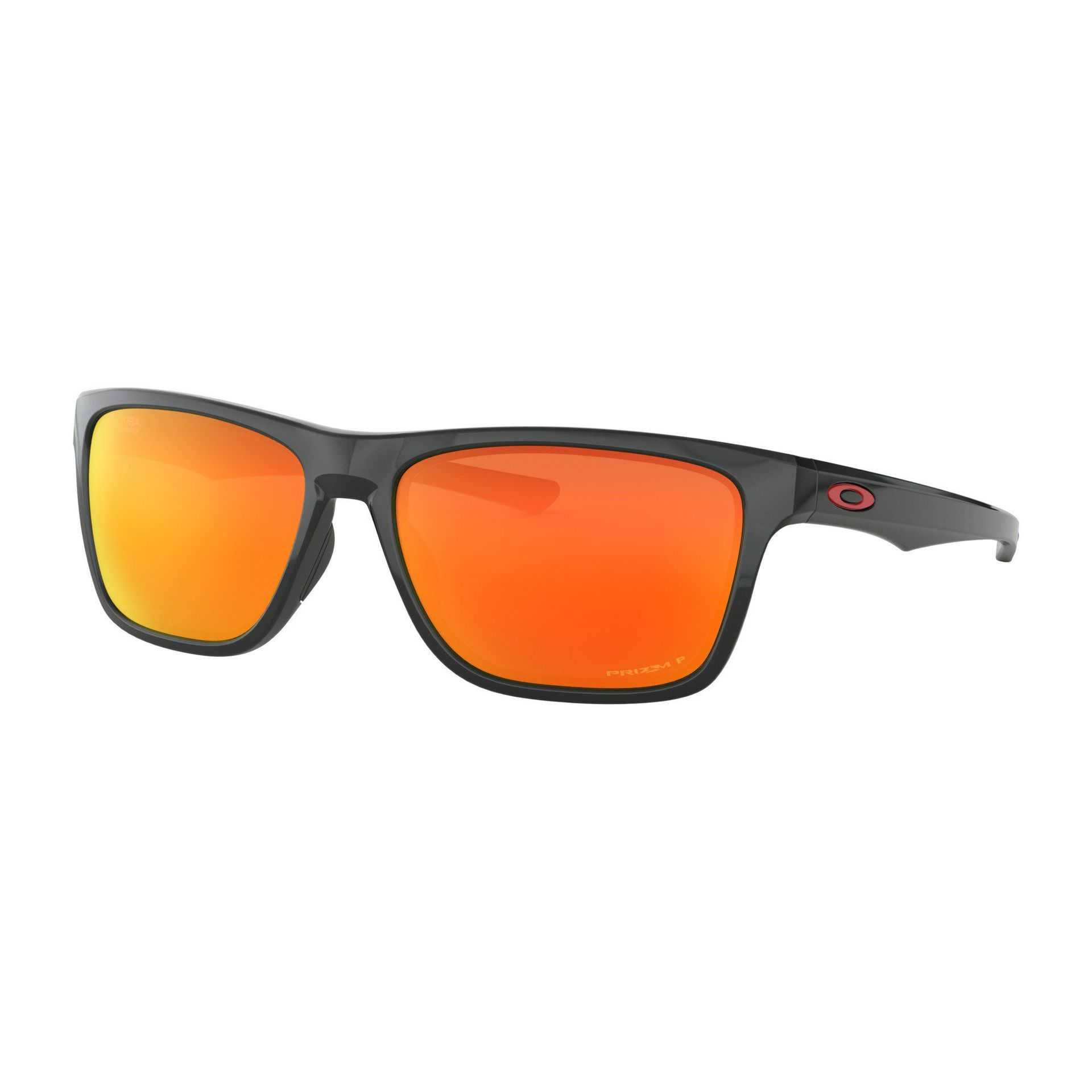OKULARY OAKLEY HOLSTON POLISHED BLACK|PRIZM RUBY POLARIZED