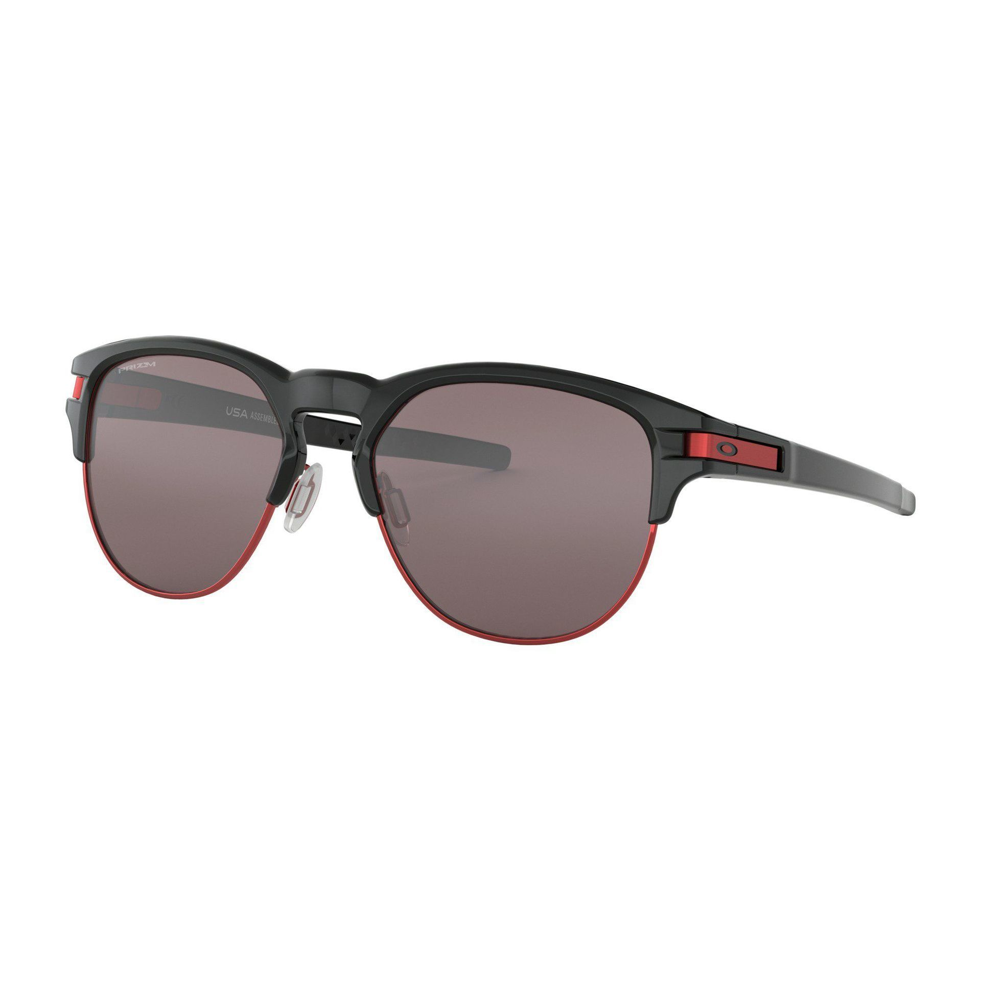 OKULARY OAKLEY LATCH KEY L POLISHED BLACK|PRIZM BLACK