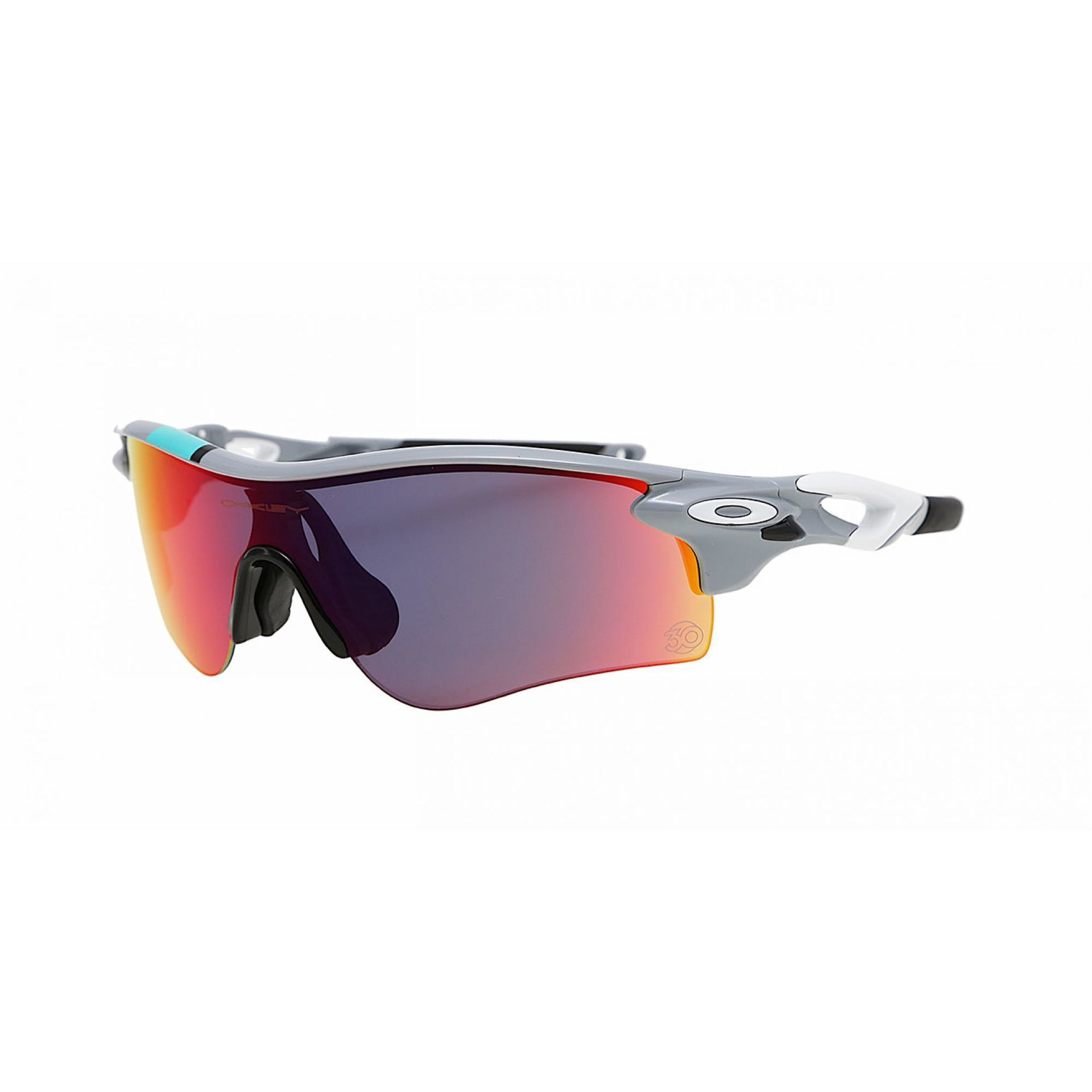 OKULARY OAKLEY RADARLOCK PATH FOG W RED