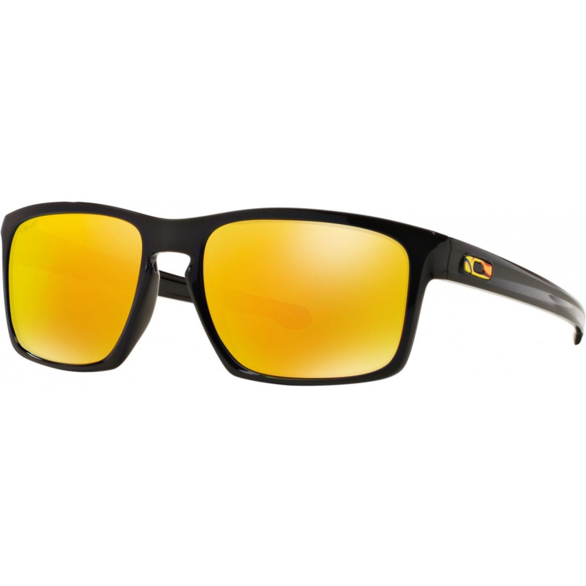 OKULARY OAKLEY SLIVER POLISHED BLACK FIRE IRIDIUM