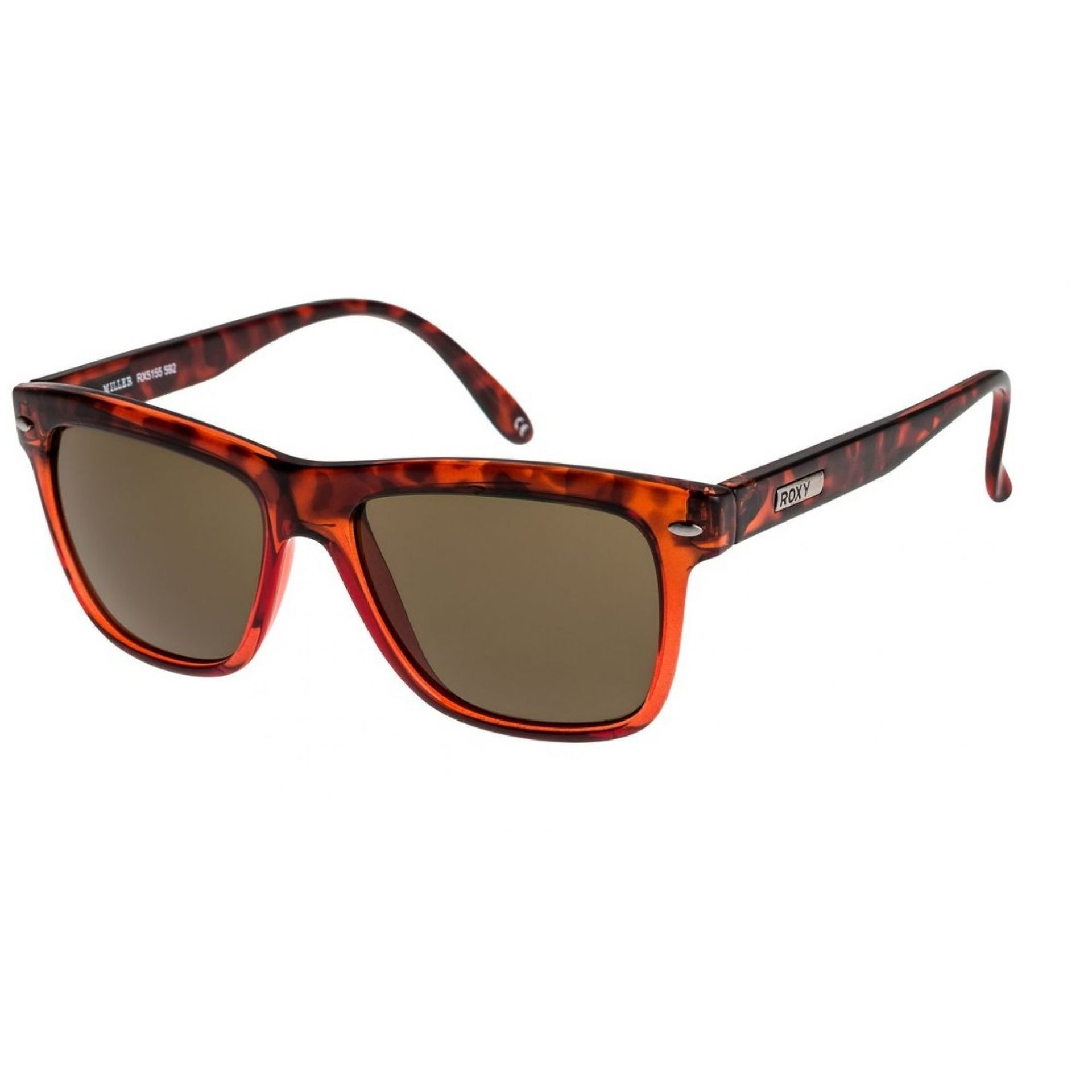 Okulary Roxy Miller W czerwony czarny