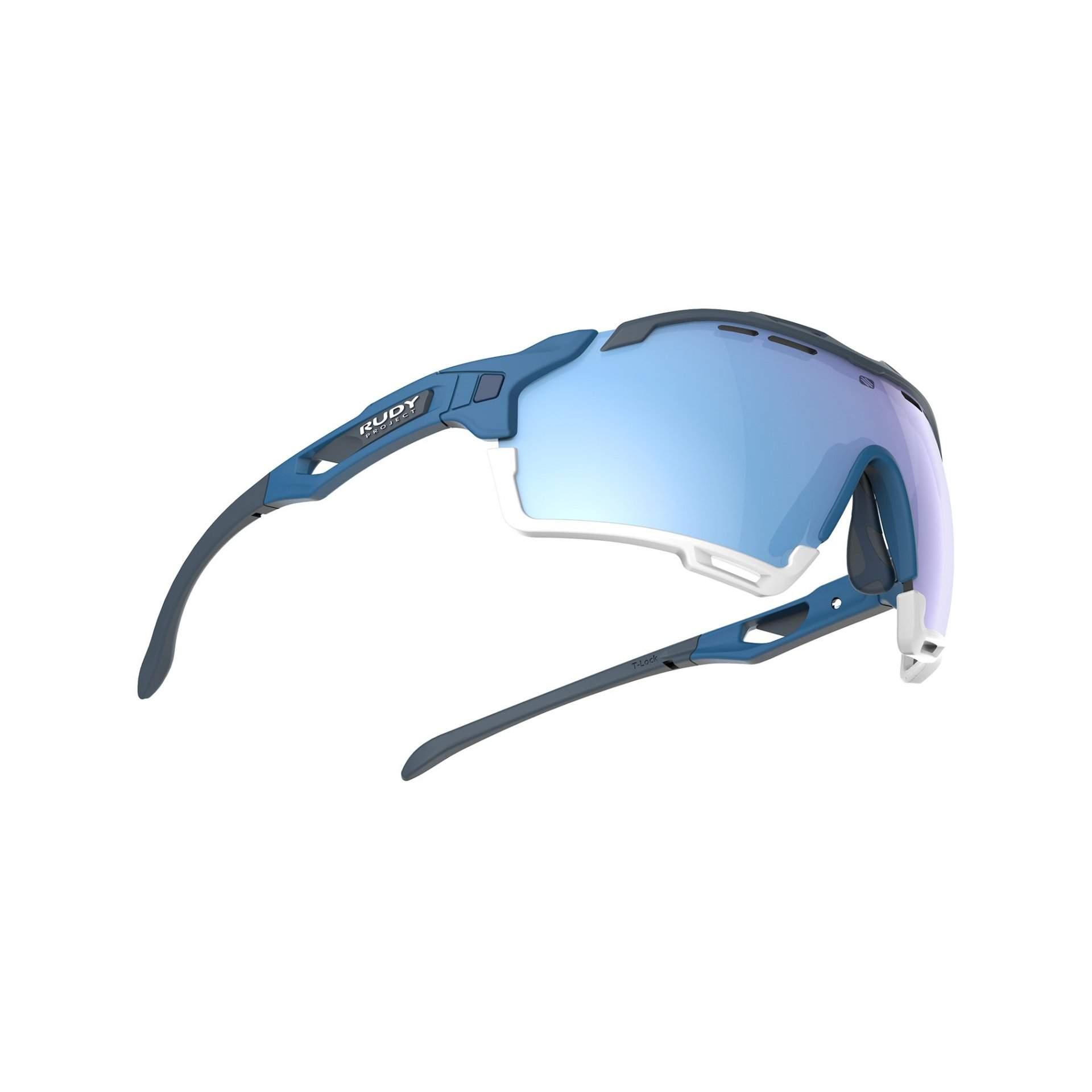 OKULARY RUDY PROJECT CUTLINE MULTILASER ICE + PACIFIC BLUE MATTE SP6368490000 Z DOŁU