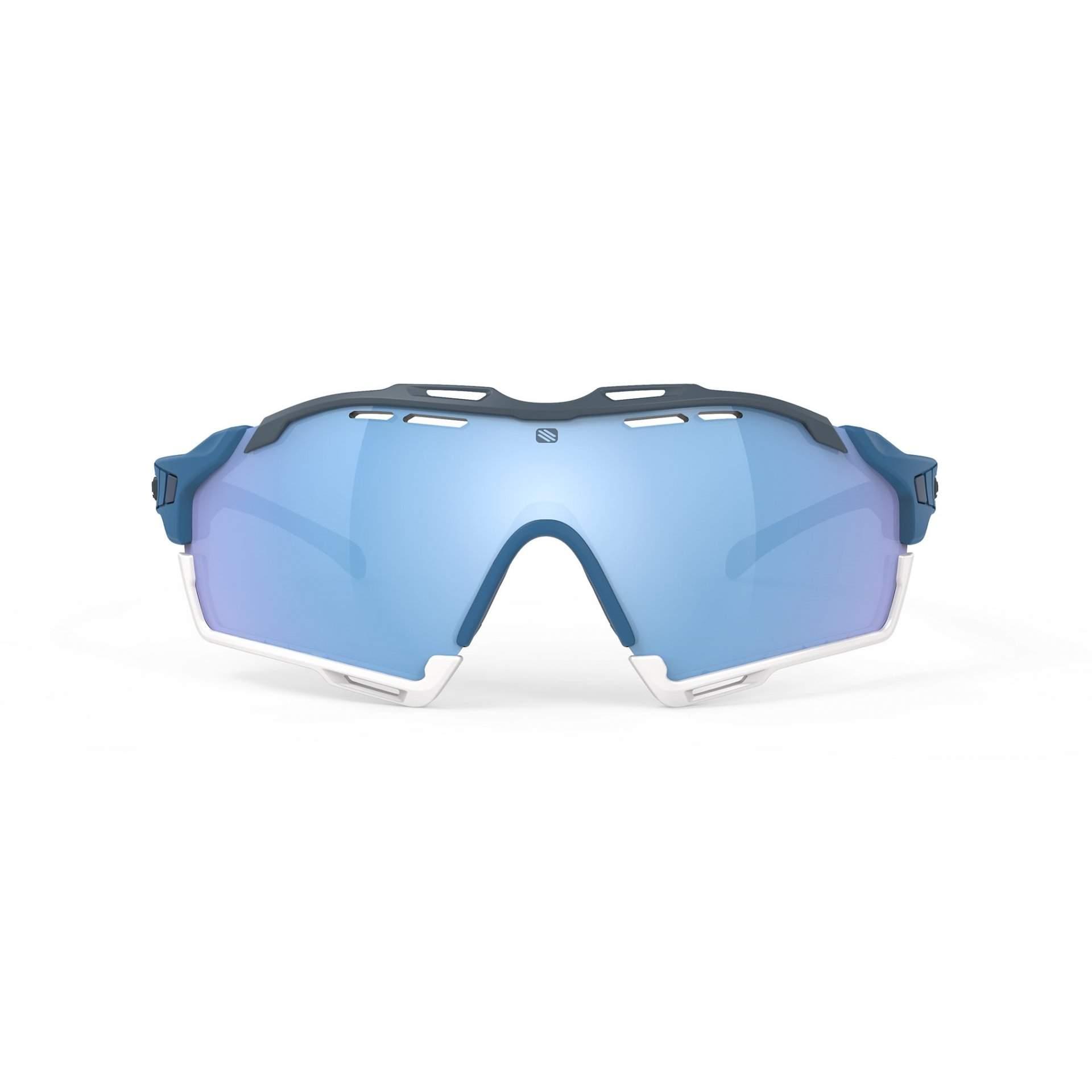 OKULARY RUDY PROJECT CUTLINE MULTILASER ICE + PACIFIC BLUE MATTE SP6368490000 Z PRZODU