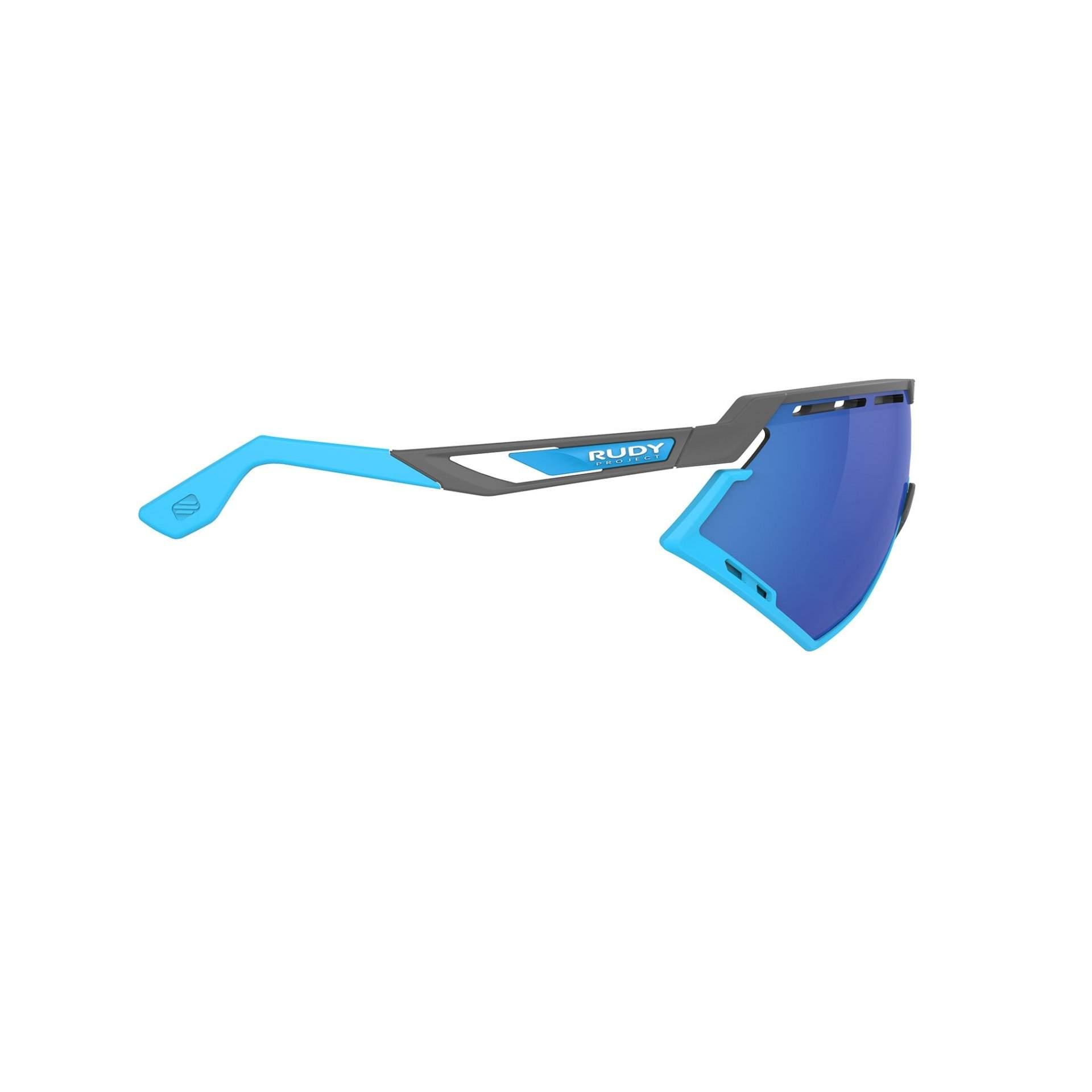 OKULARY RUDY PROJECT DEFENDER MULTILASER BLUE + GGREY|BUMPERS AZUR SP5239750002 Z BOKU