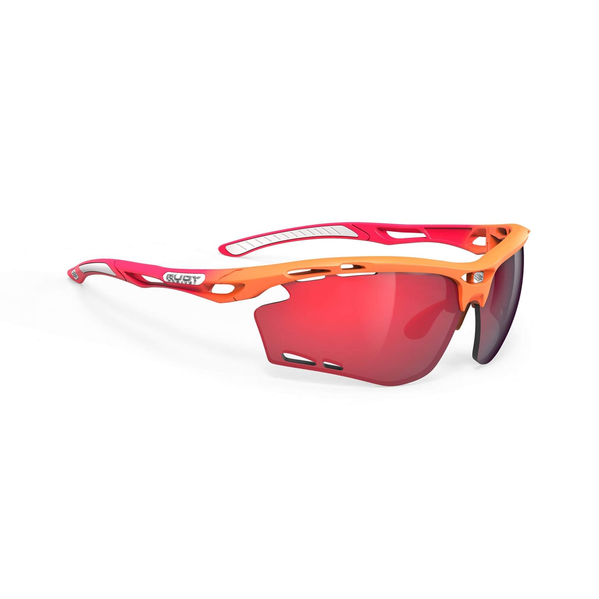 OKULARY RUDY PROJECT PROPULSE MANDARIN FADE CORAL|MULTILASER RED 1