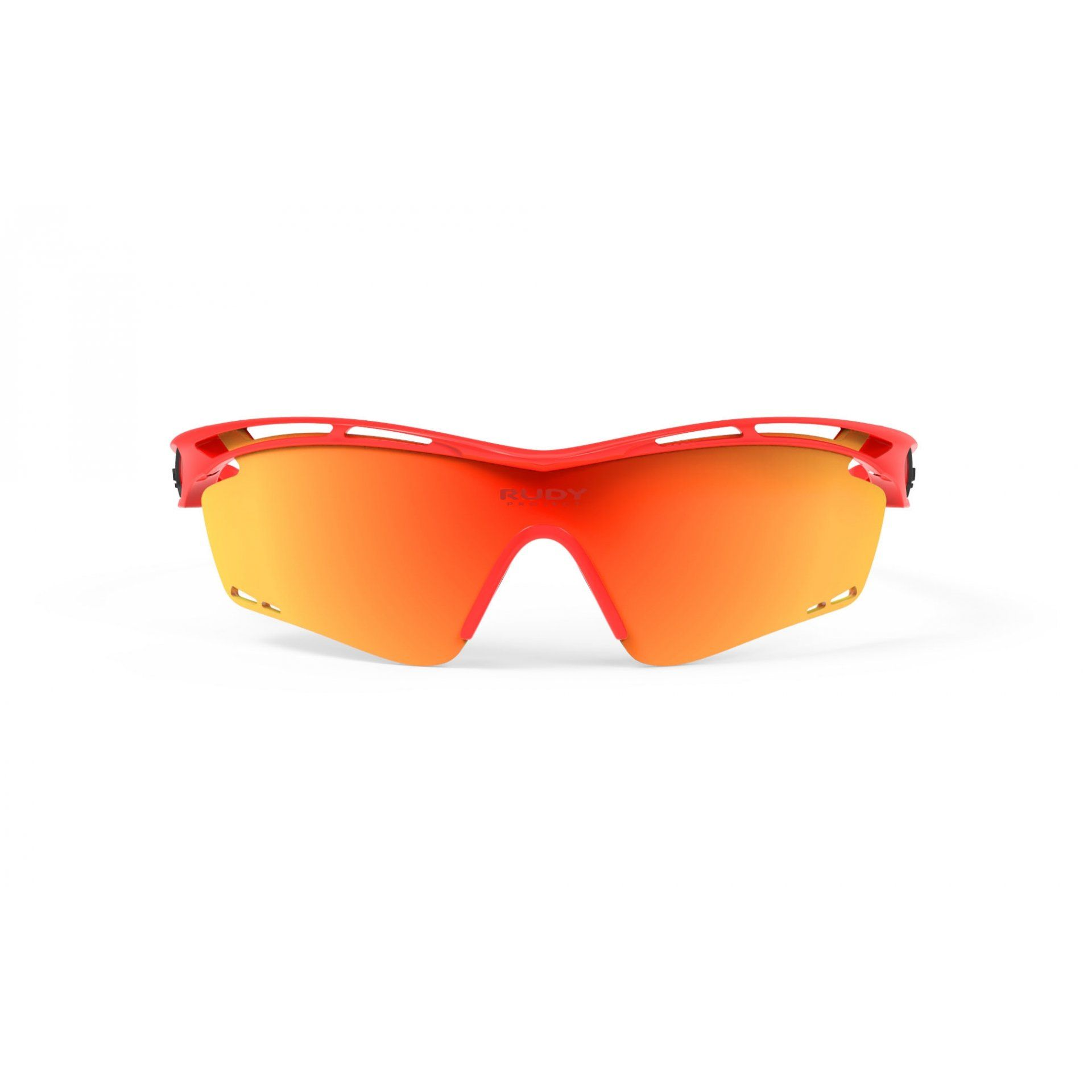 OKULARY RUDY PROJECT TRALYX RED FLUO+MULTILASER ORANGE 2