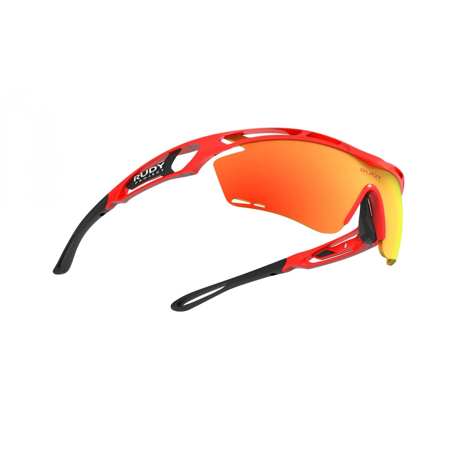 OKULARY RUDY PROJECT TRALYX RED FLUO+MULTILASER ORANGE 3