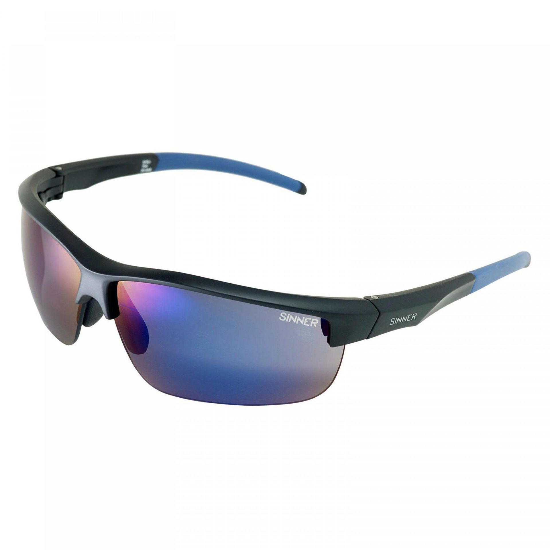 OKULARY SINNER ANTIGUA BLACK|BLUE 1