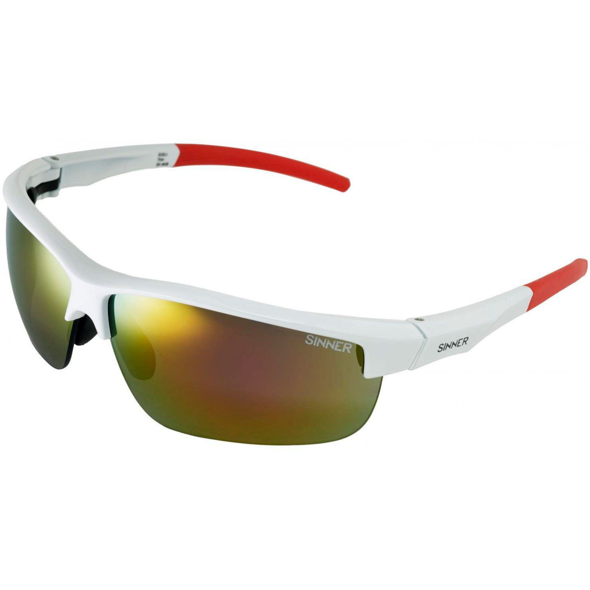 OKULARY SINNER ANTIGUA WHITE 1